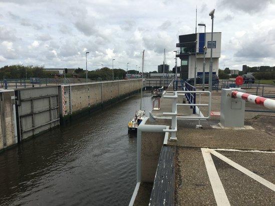 Provincie Noord-Holland wil extra investeren in de renovatie van de Koopvaardersschutsluis. (Foto: aangeleverd)