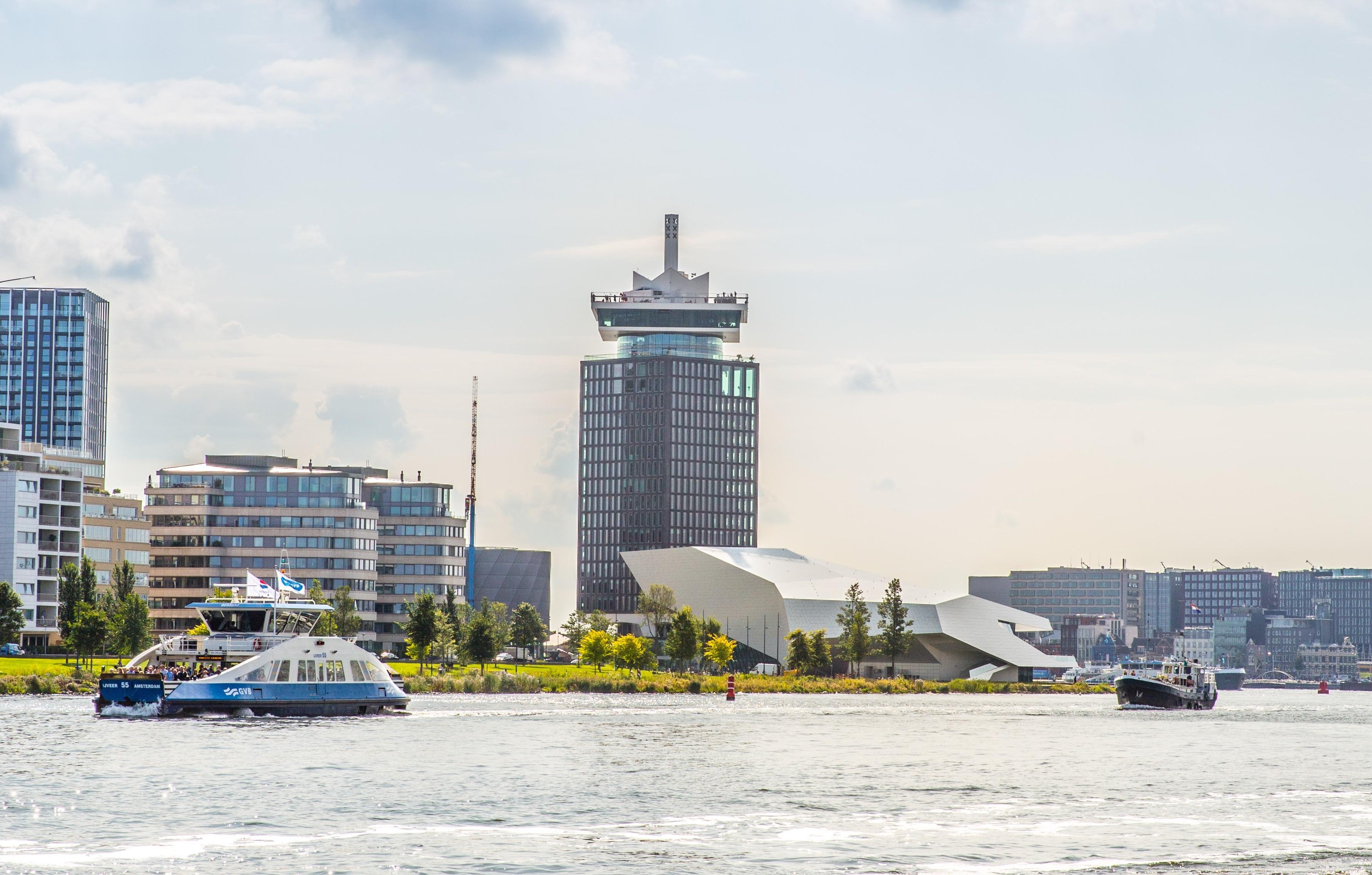 A'dam toren. (Foto: Vincent de Vries/RM)