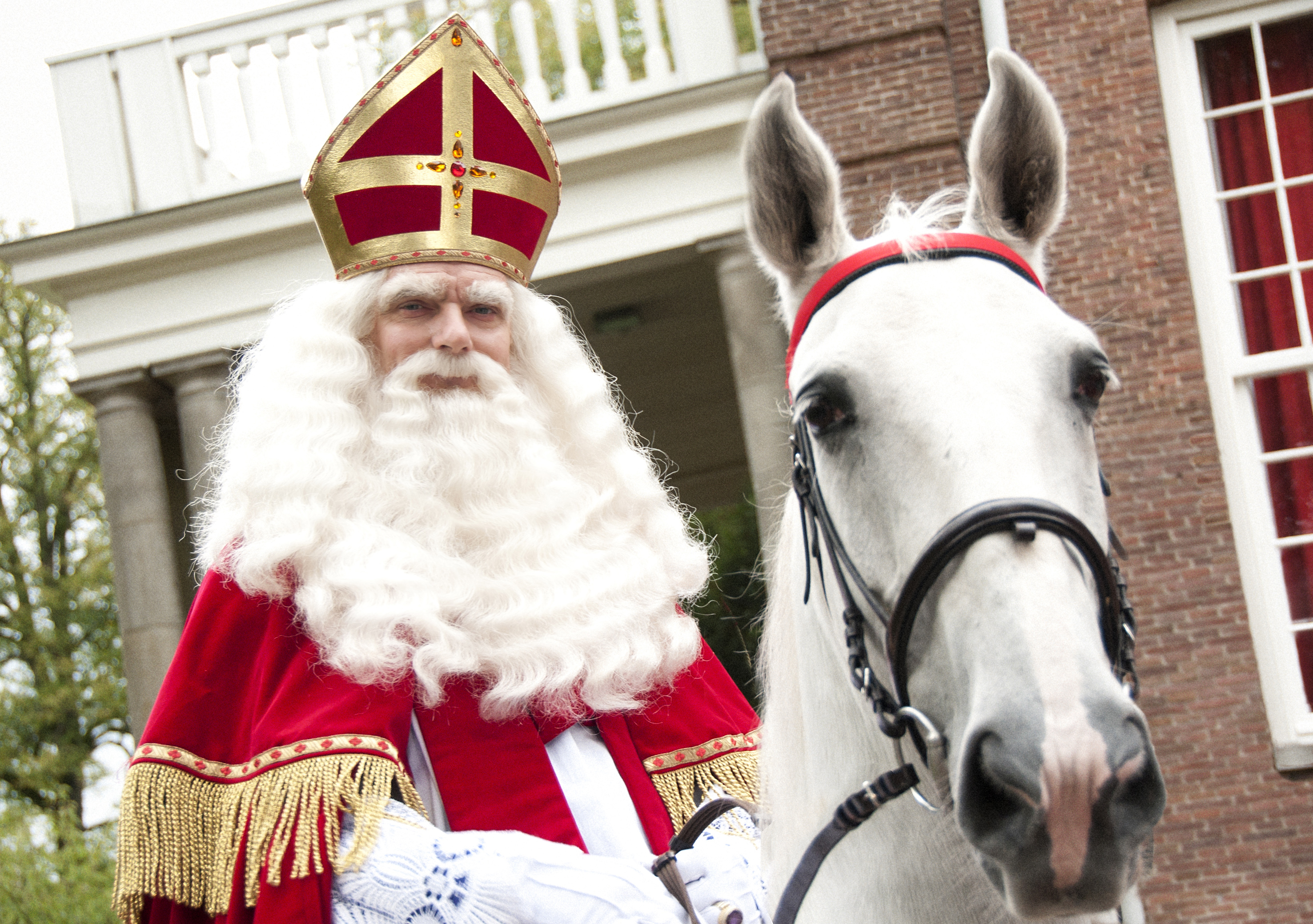 Sinterklaas kijkt ernaar uit de Zaanse kinderen te ontmoeten. (Foto: Gemeente Zaanstad)