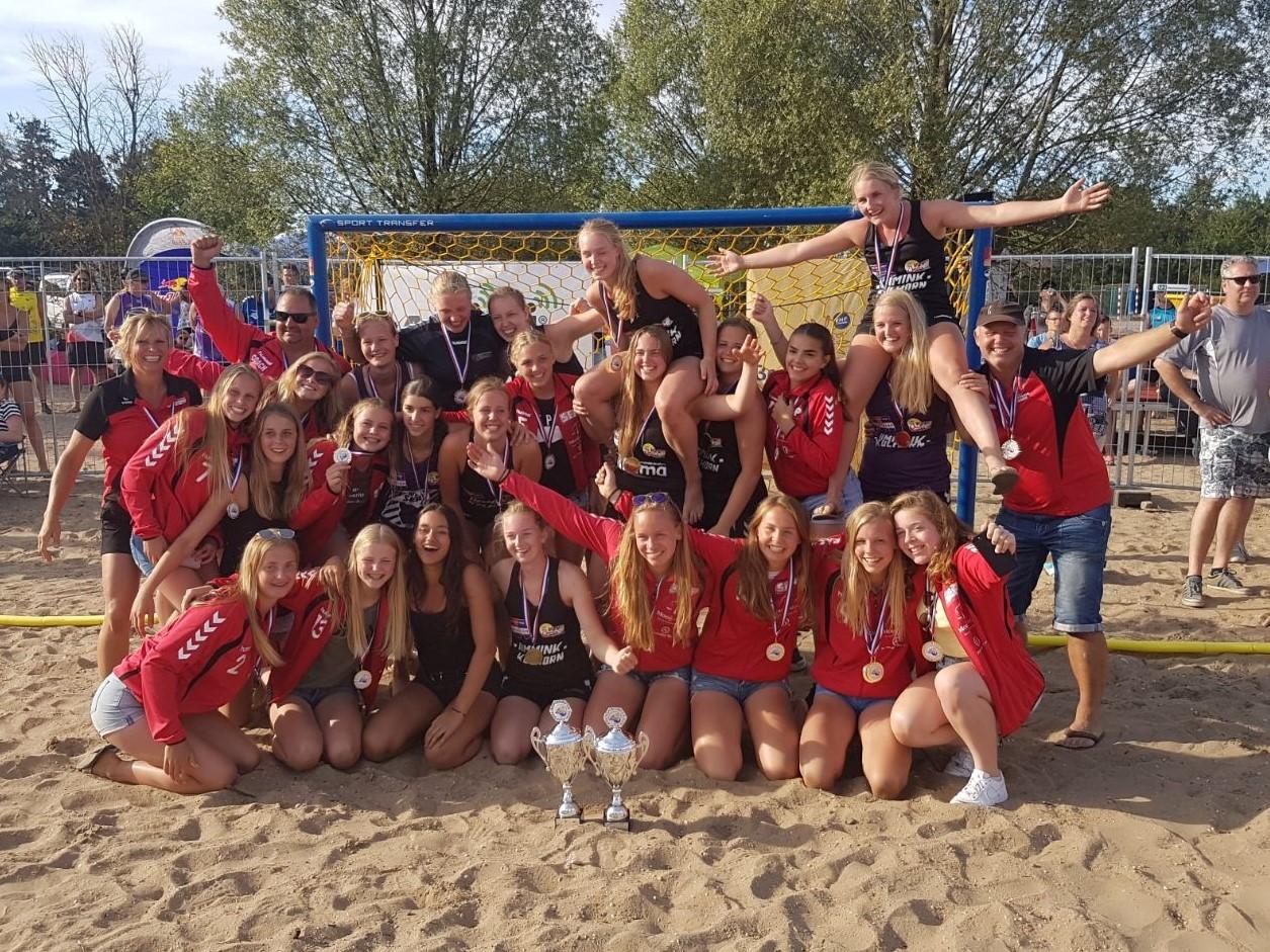 De tweede editie van het Maedilon VZV Beach Handball Toernooi staat op het programma. (Foto: aangeleverd)