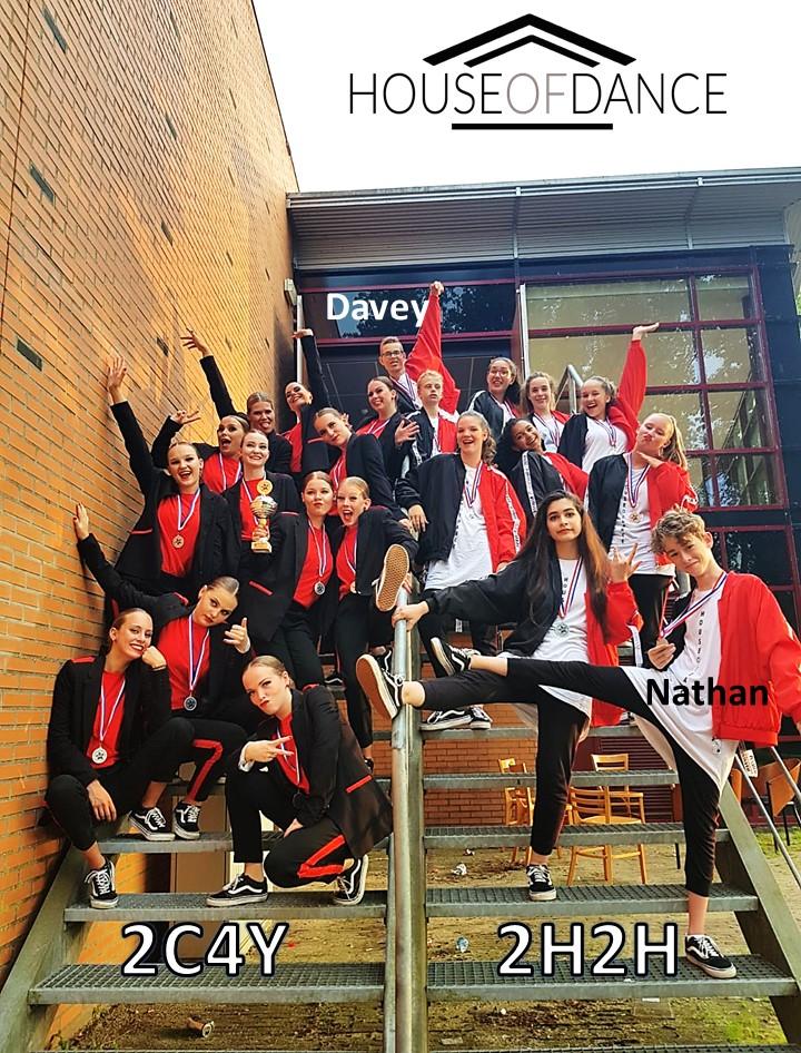 Twee teams van House Of Dance behaalden finaleplaatsen tijdens de Nederlandse Kampioenschappen HipHop. (Foto: aangeleverd).