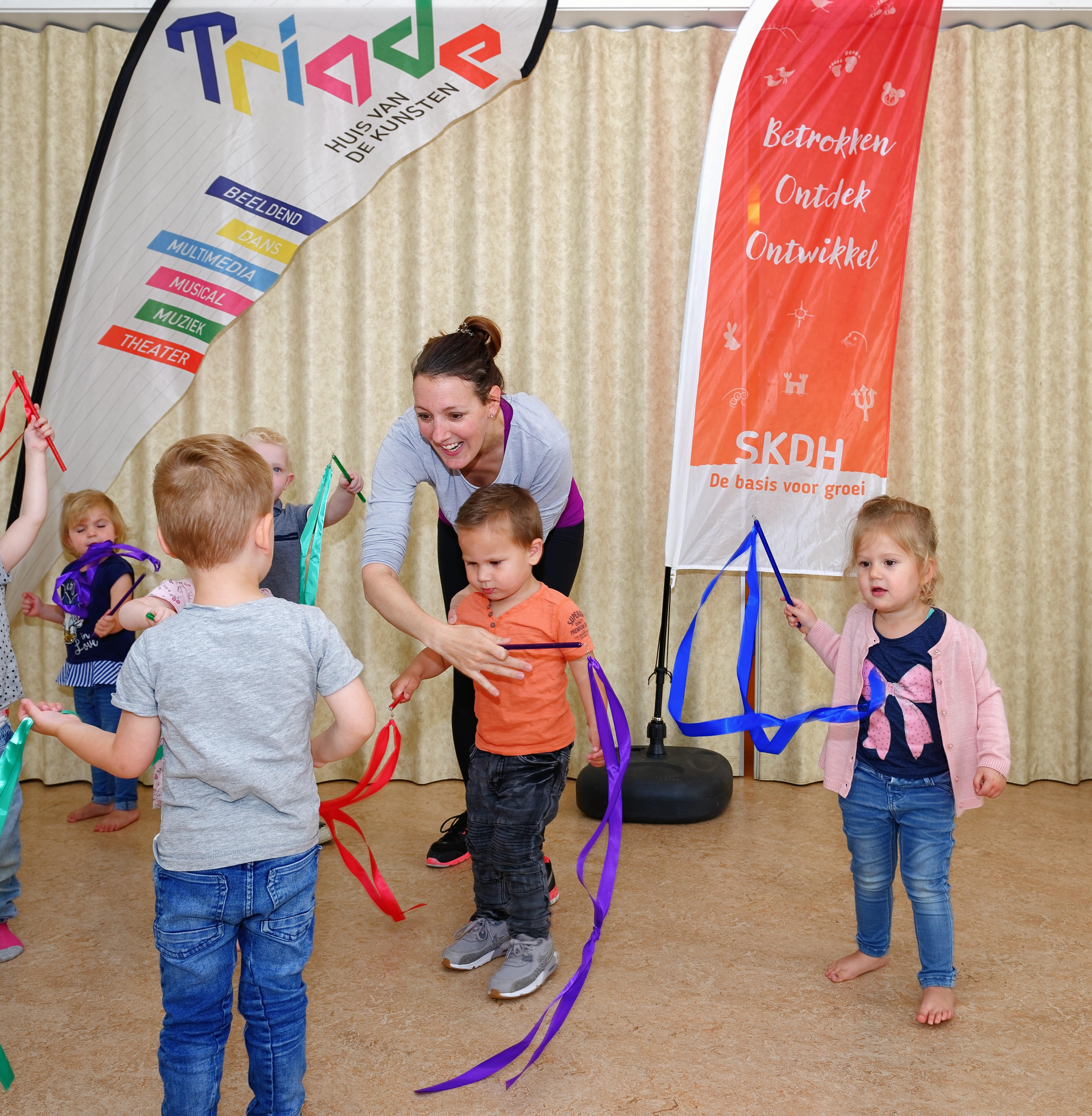 Dans- en muziekles Triade vast onderdeel bij SKDH. (Foto: aangeleverd).