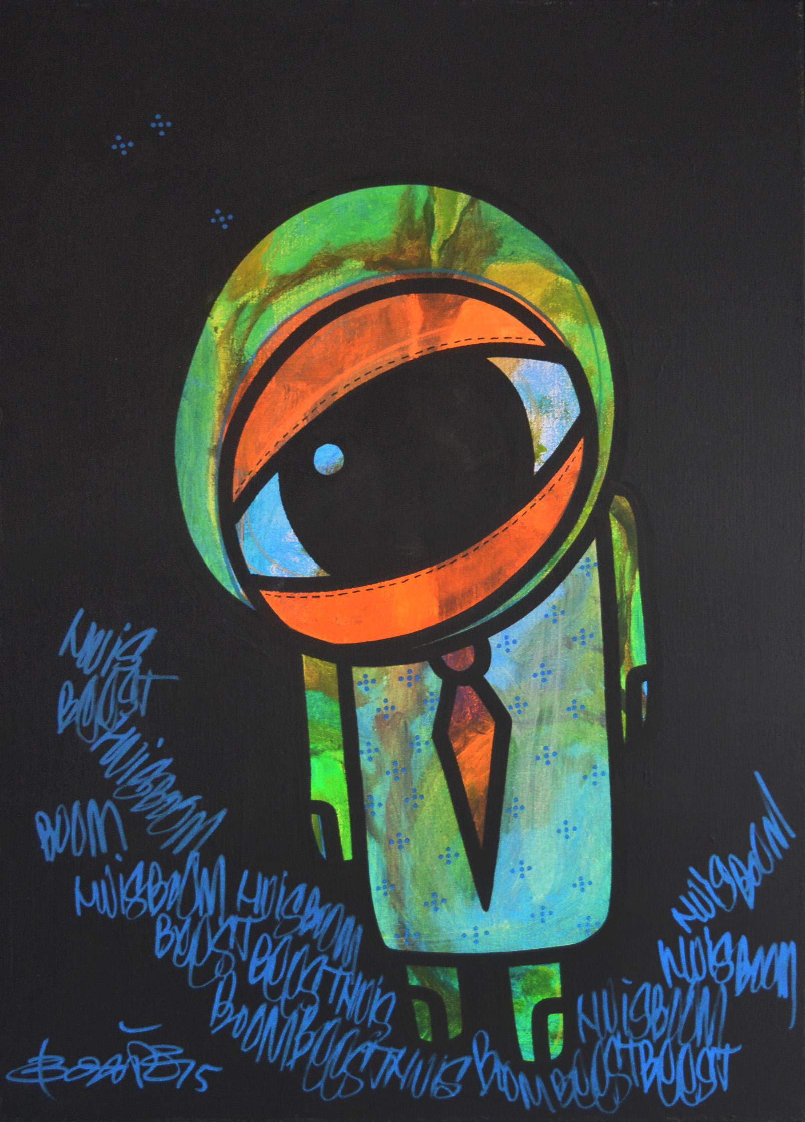 Ook Boxie toont tijdens de expositie 'The Storyteller' zijn werk. (Foto: aangeleverd)