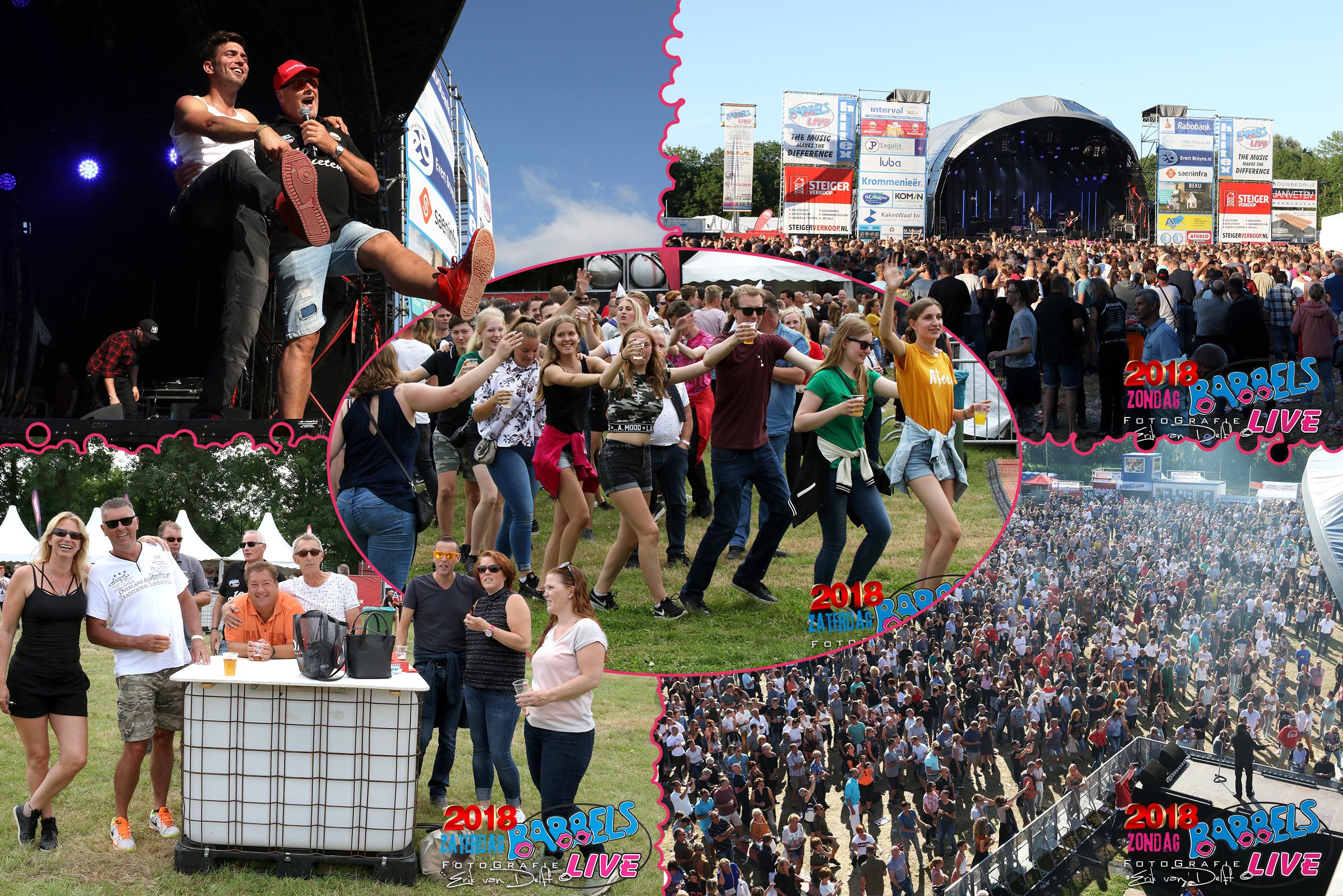 Sfeerimpressie van Babbels Live Festival 2018. Kijk voor alle originele beelden op www.zaan.nl (Foto's: Erik van Delft/ Fotobewerking: BA/RM)