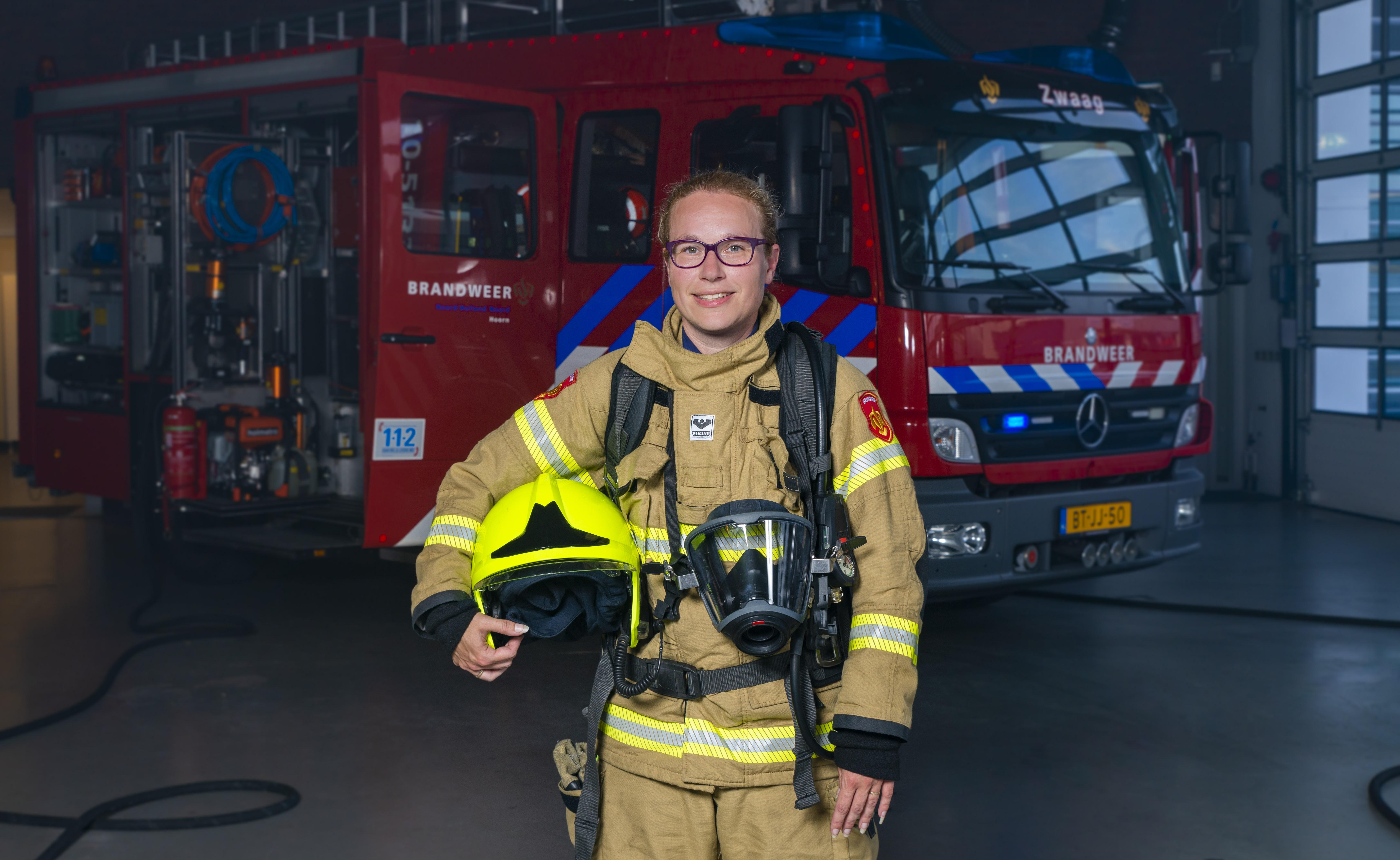 Postcommandant Pamela Scholten. (Foto: Rens Harzing)