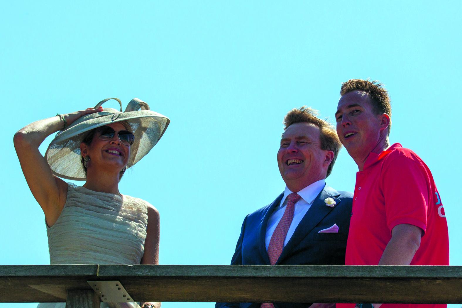 Het Koninklijk Paar op bezoek in Medemblik. (Foto's: Vincent de Vries / Rodi Media)