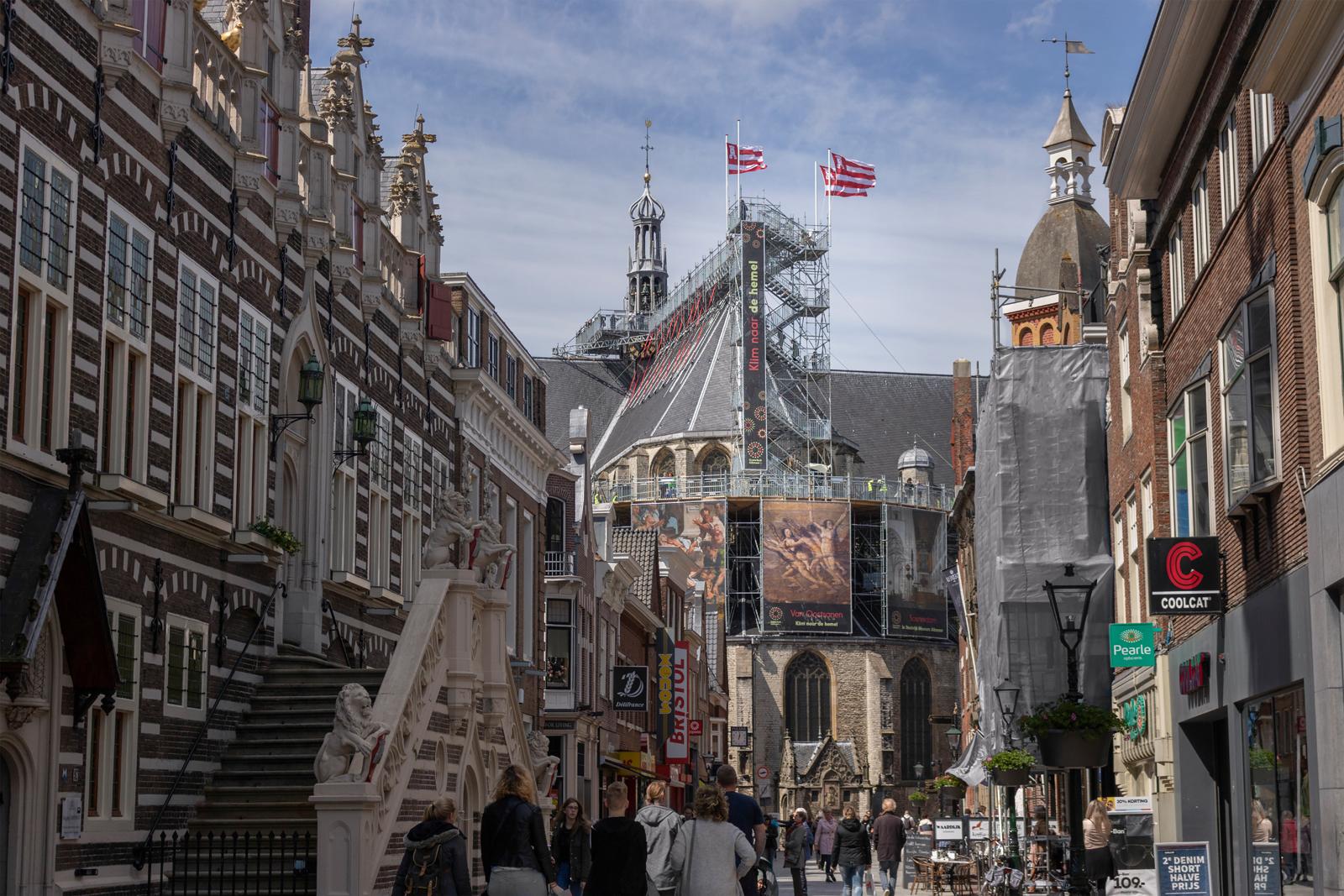 Klim naar de Hemel: een letterlijk hoogtepunt van het jubileumjaar. (foto Gerjon Rooker)