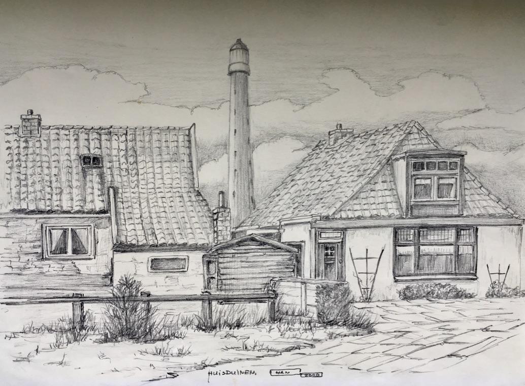 Een sfeerimpressie van Huisduinen door Han Ellermeijer. (Foto: aangeleverd)
