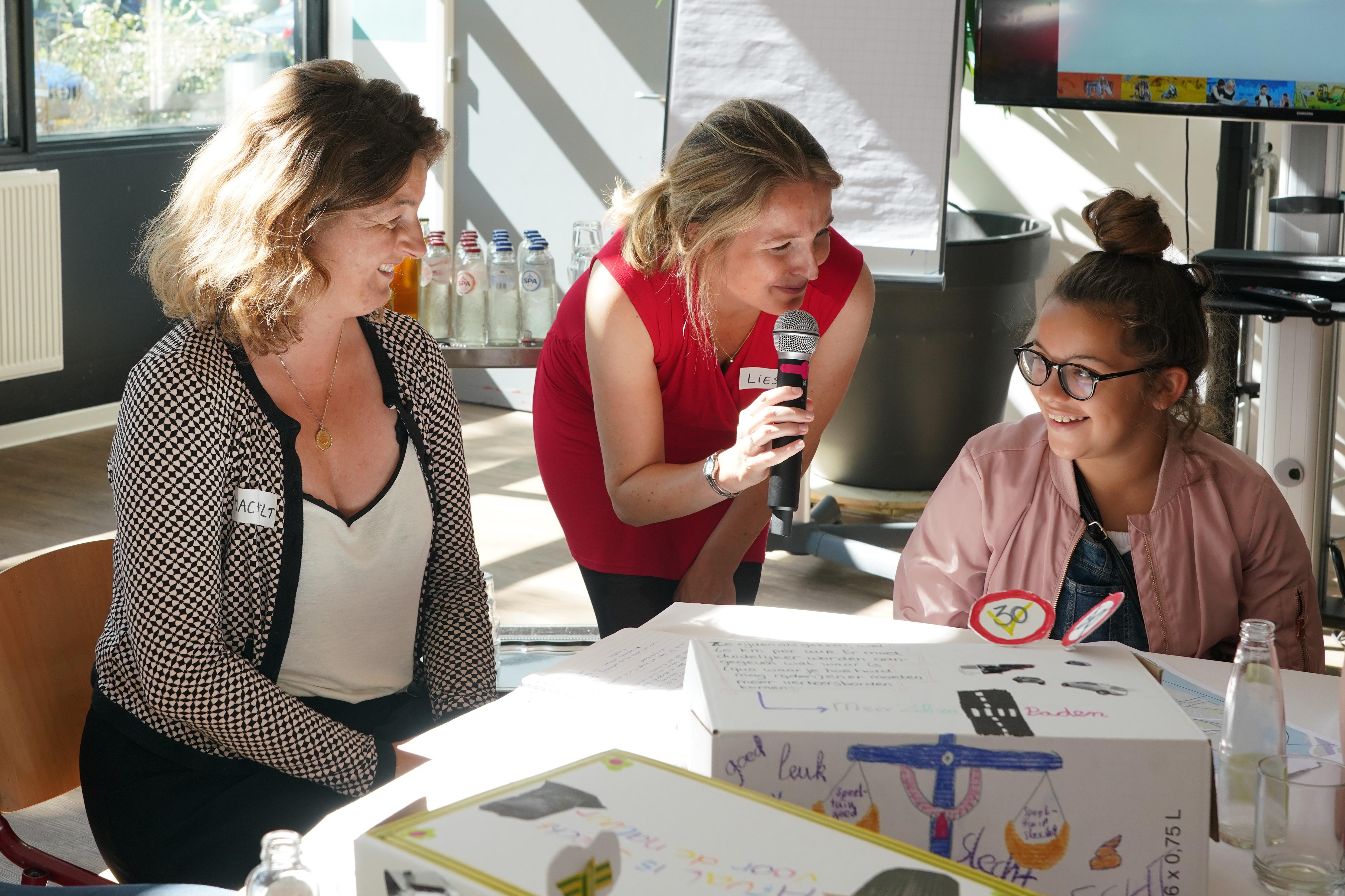 Conferentie 'Betere kansen voor de jeugd in Oud Noord'. (Foto: E. v. Eis)