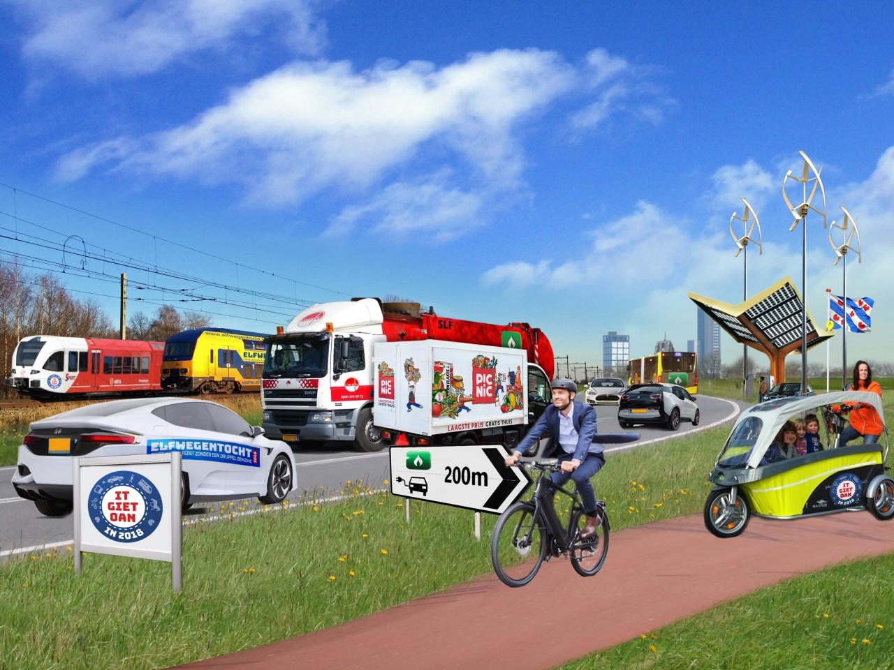 Haarlemmermeer doet mee aan Elfwegentocht Parade. (Foto: aangeleverd)