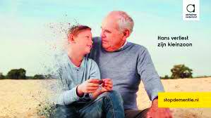 Stop Alzheimer. (Foto: Stichting Alzheimer Nederland)