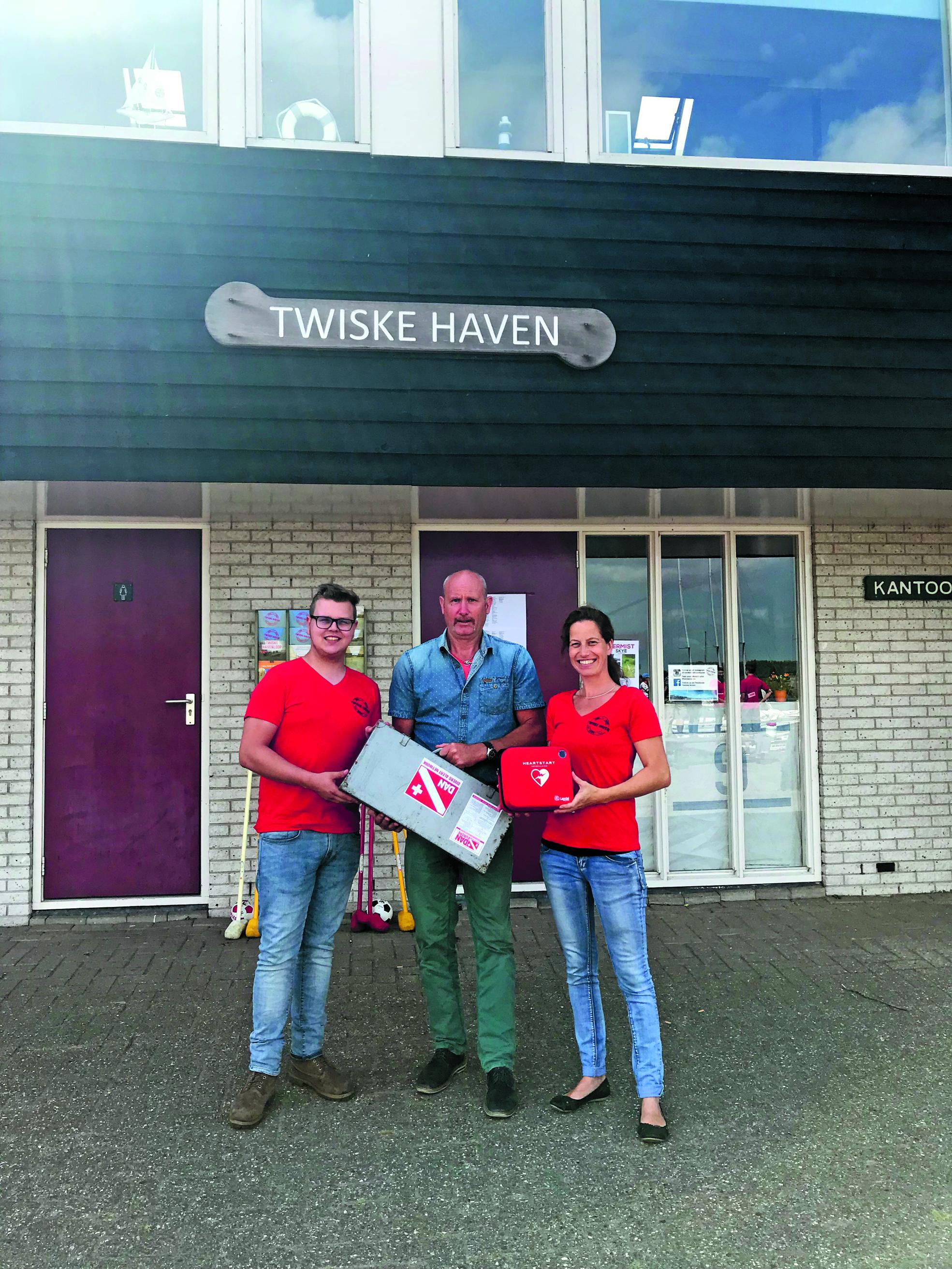 Twiskehaven heeft AED