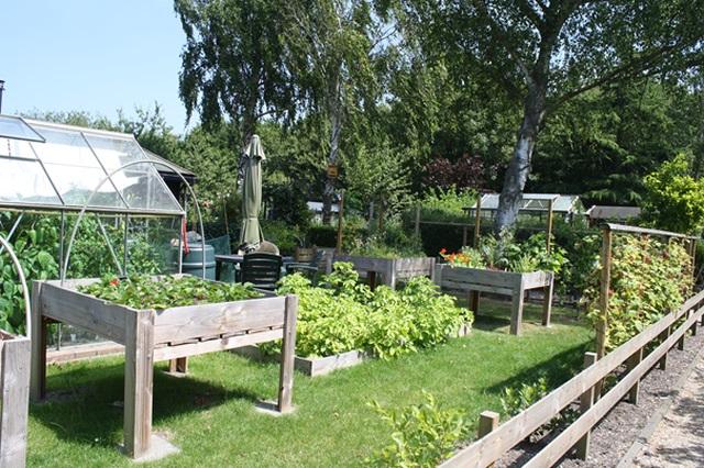 De tuinen liggen in de groene long van de stad. (Foto: aangeleverd)