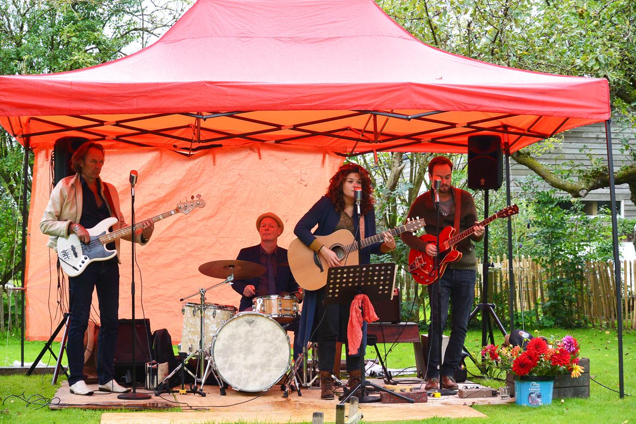 Optreden tijdens eerdere editie van Muziek aan de Middenweg. (Foto: Muziek aan de Middenweg)