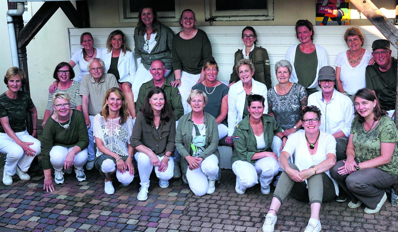 Het gezelschap Music Train uit Castricum. (foto aangeleverd)