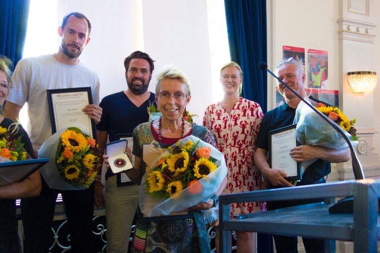 Els Annegarn ontvangt Penning Sportraad Amsterdam 2018. (Foto: aangeleverd)