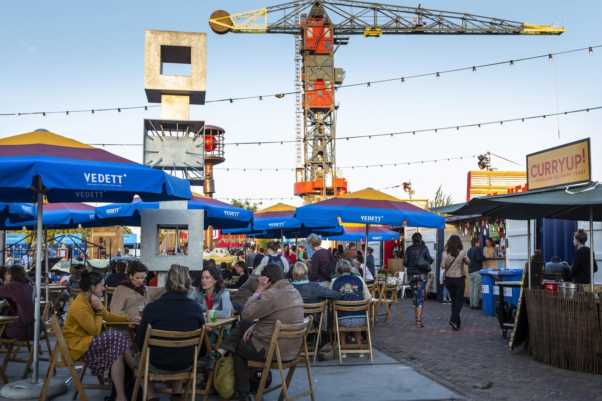 Over het IJ Festivalterrein. (Foto: Over het IJ Festival)