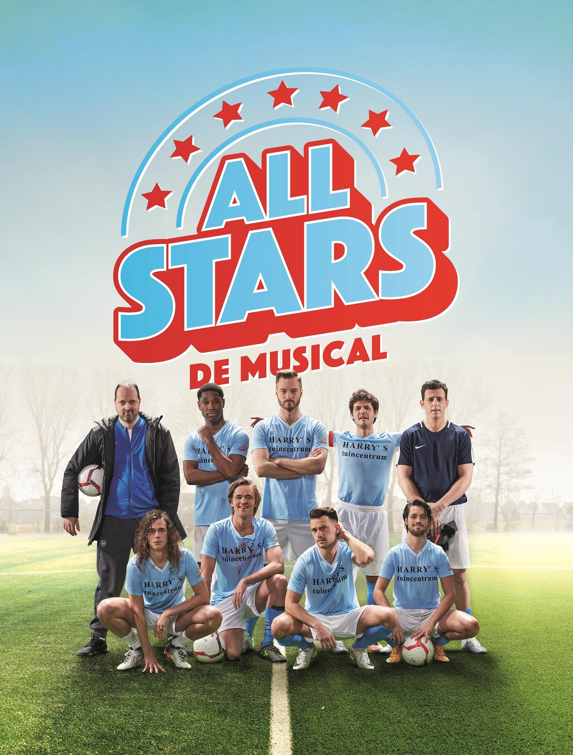 All Stars komt als musical op de planken. (Foto: Mark Engelen)