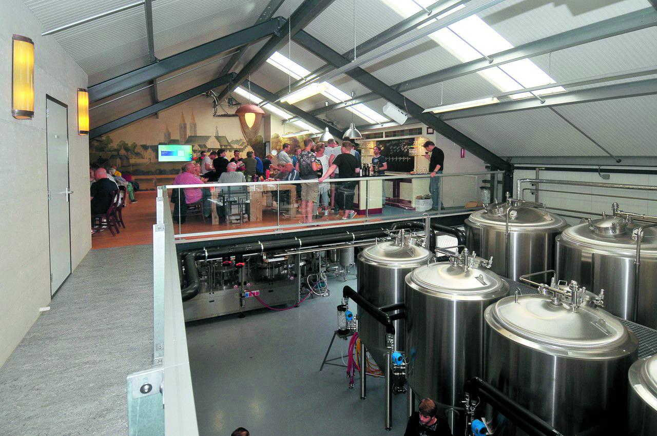 Brouwerij Egmond is volop in beweging. (Foto's: aangeleverd).