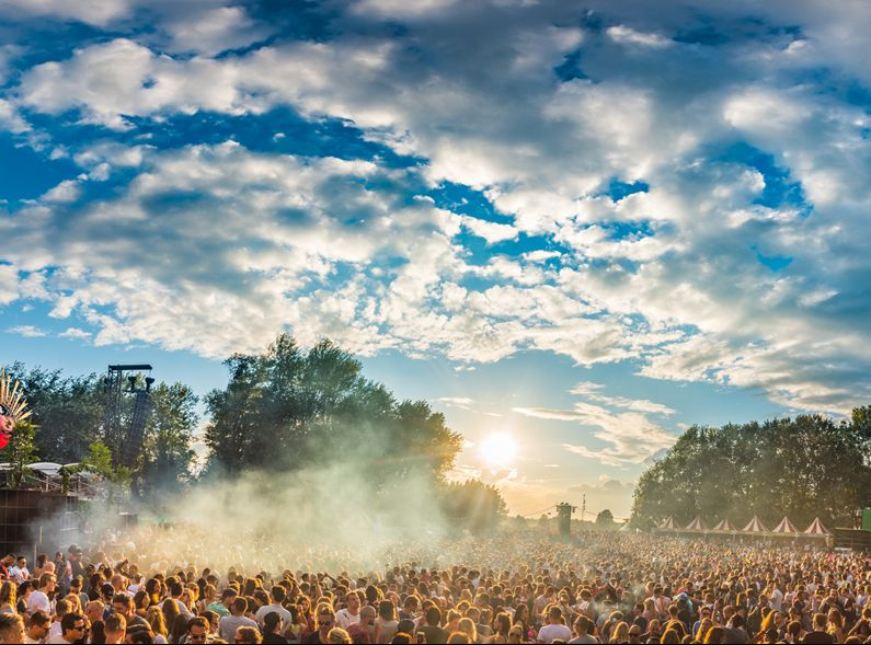 Festival Welcome to the Future. (Foto: Recreatie Noord-Holland)