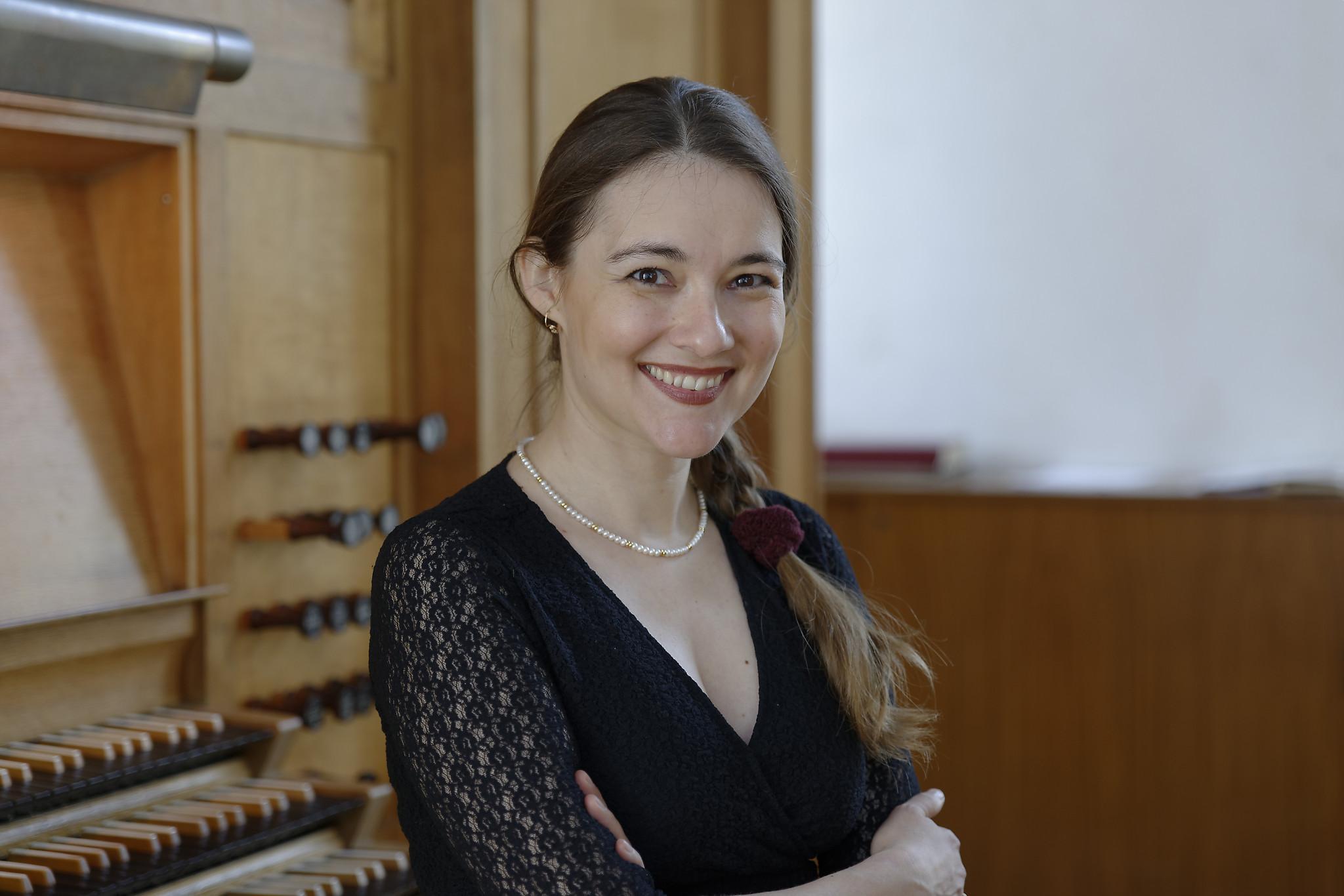 Pianiste en organiste Lidia Ksiazkiewicz. (Foto: Keyserkerk)