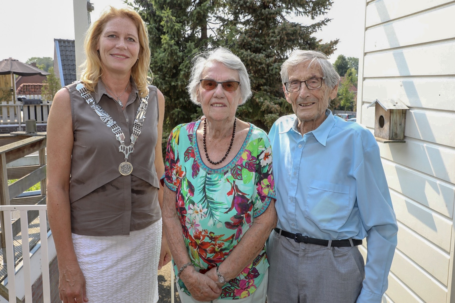 Echtpaar Tolman-Bruning 65 jaar getrouwd