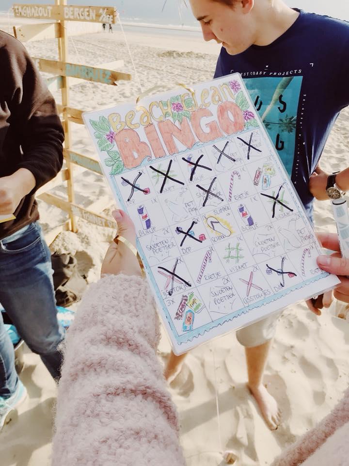 Het beloven positieve en leerzame middagen te worden op het strand van Bergen aan Zee. (Foto: Love Not Waste) rodi.nl © rodi