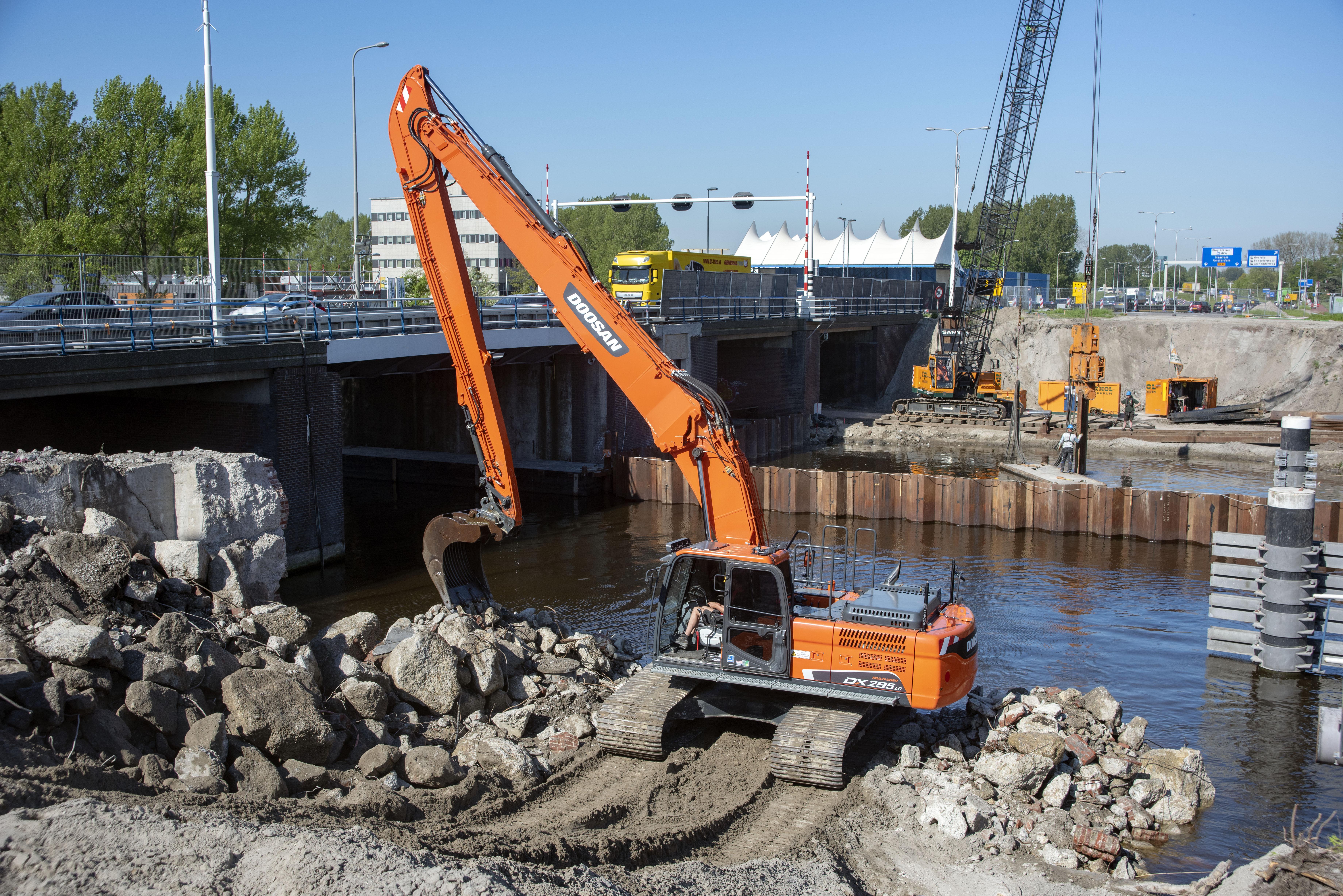 Provincie Noord-Holland treft maatregelen om de bouwstop aan de Leeghwaterbrug op te heffen. (Foto: aangeleverd)