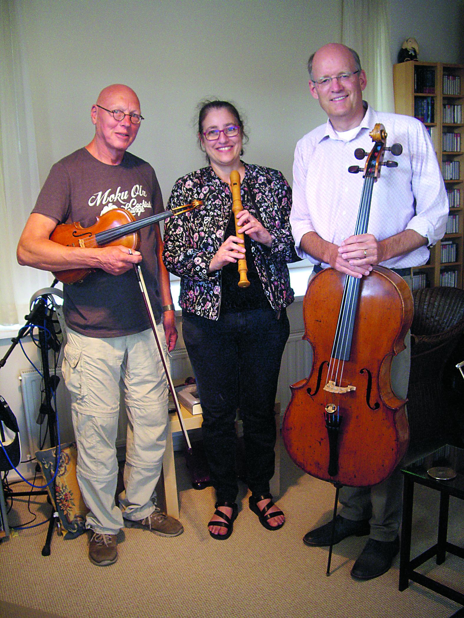 Trio Sonabile. (Foto: aangeleverd)