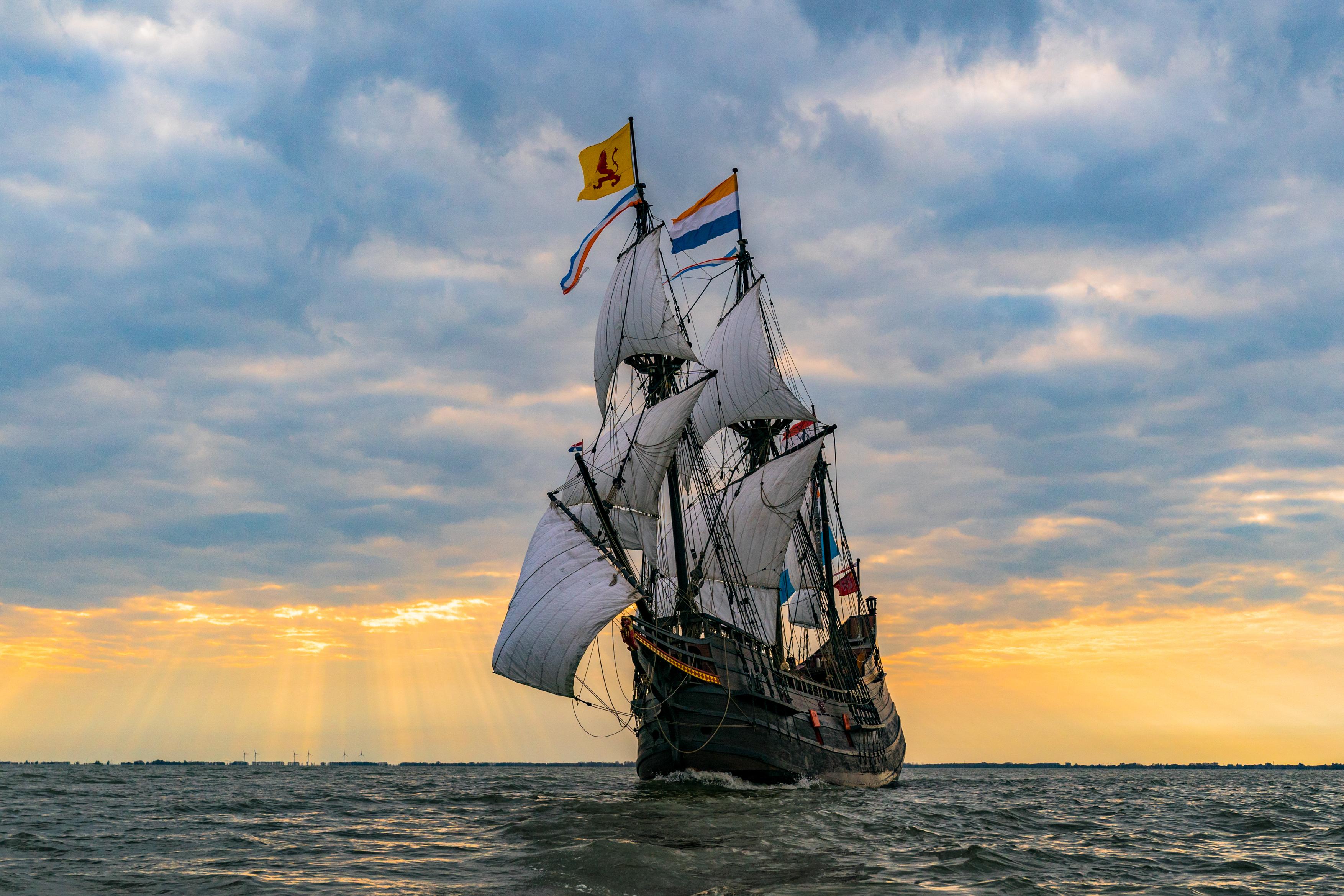 De Halve Maen maakt binnenkort een uitstapje. Het schip verlaat haar vaste standplaats Hoorn voor een bezoek aan Enkhuizen. (Foto: aangeleverd) rodi.nl © rodi