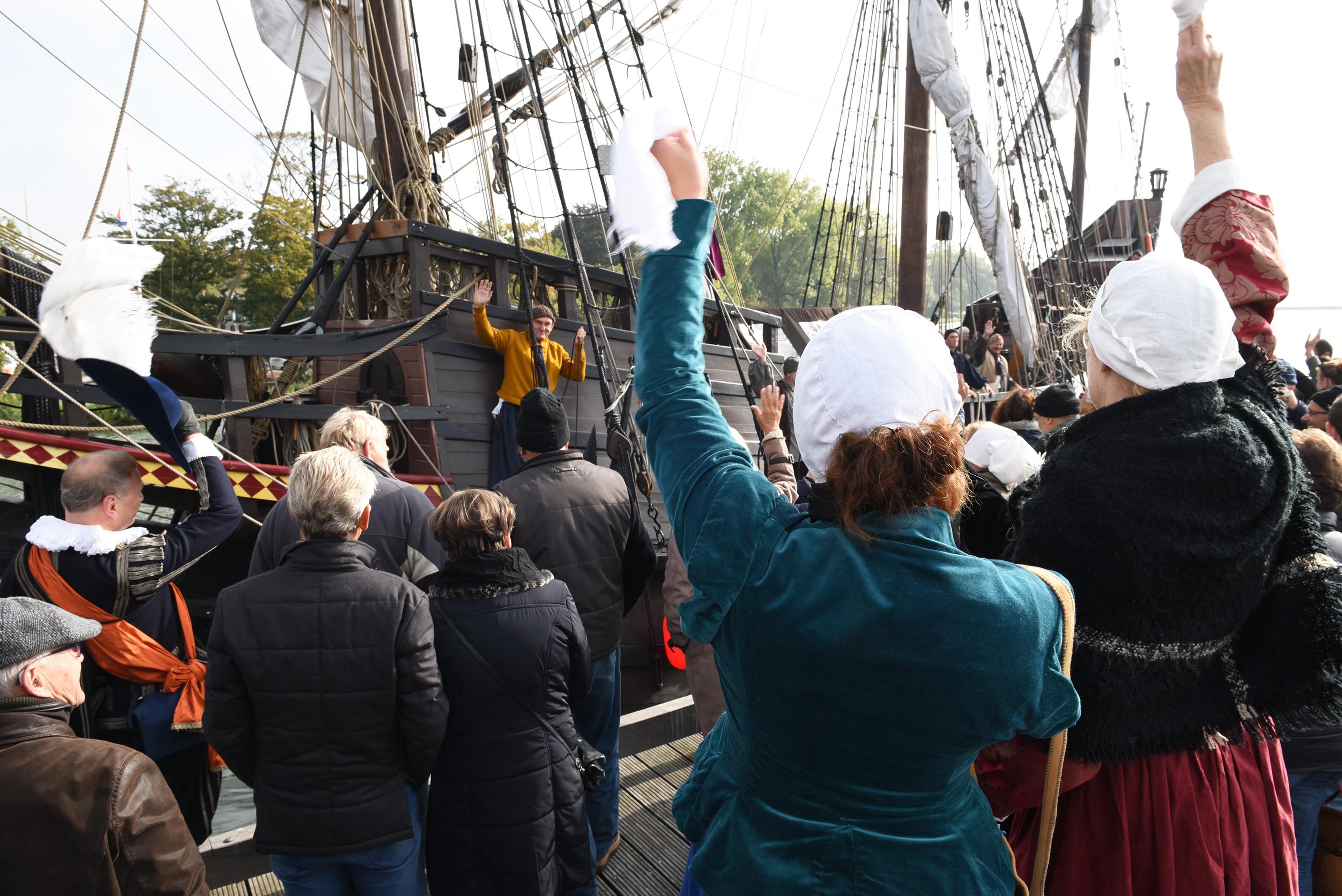 De Halve Maen maakt binnenkort een uitstapje. Het schip verlaat haar vaste standplaats Hoorn voor een bezoek aan Enkhuizen. (Foto: aangeleverd)