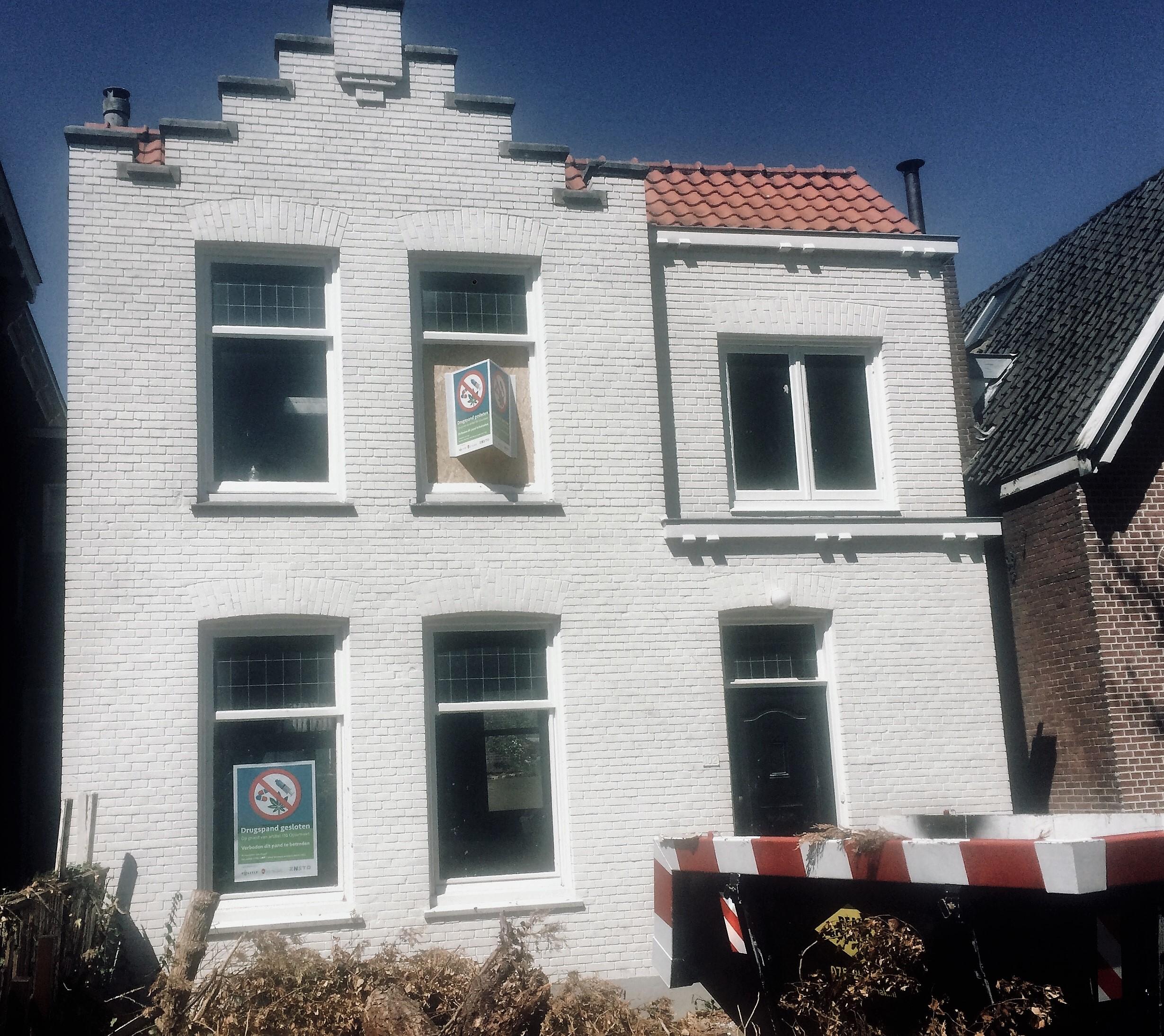 Woning Herengracht zes maanden dicht. (Foto: Gemeente Zaanstad)
