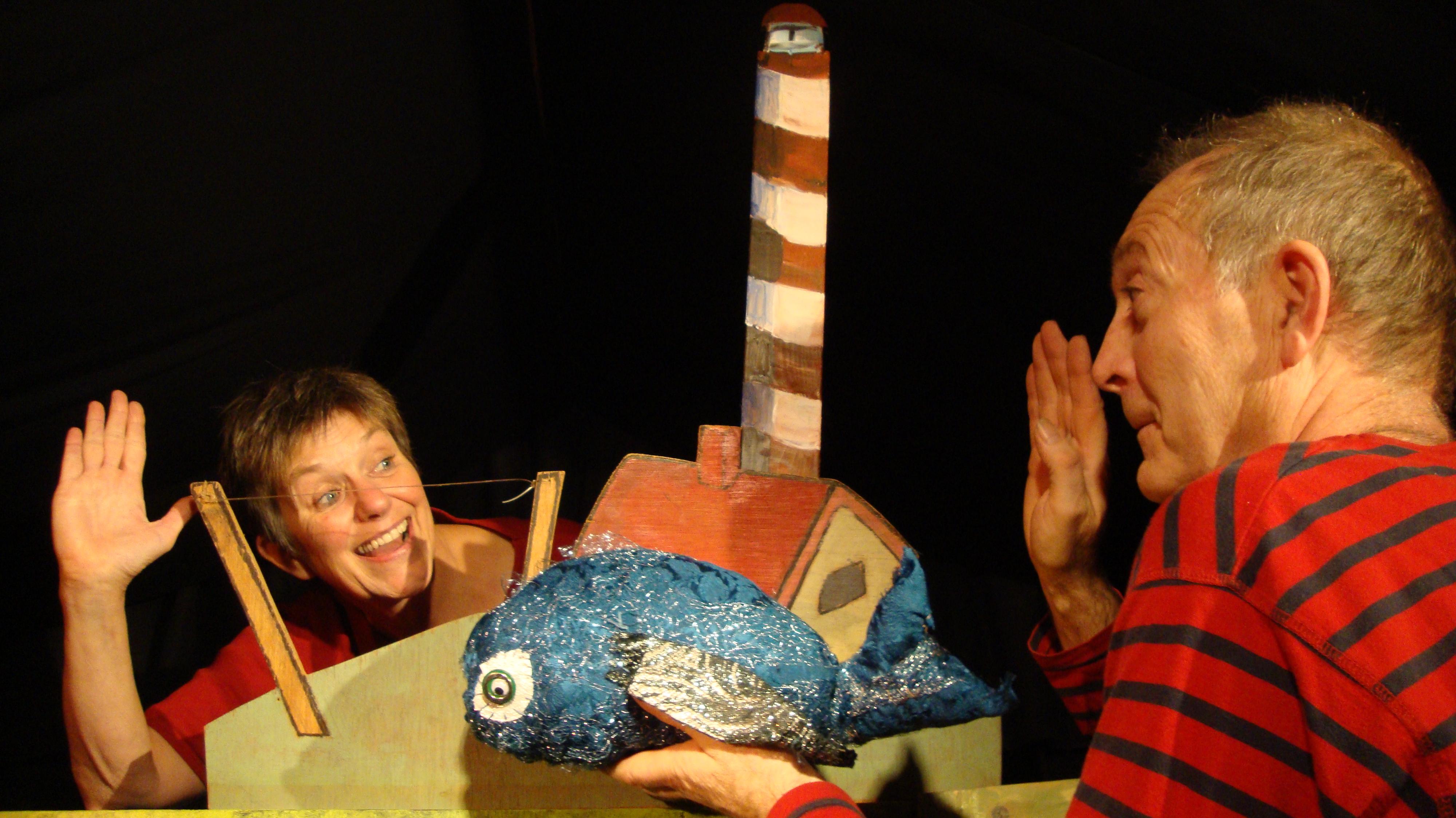Het Zoldertheater speelt 'Op reis met Kleine Walvis' in School 7. (Foto: aangeleverd)