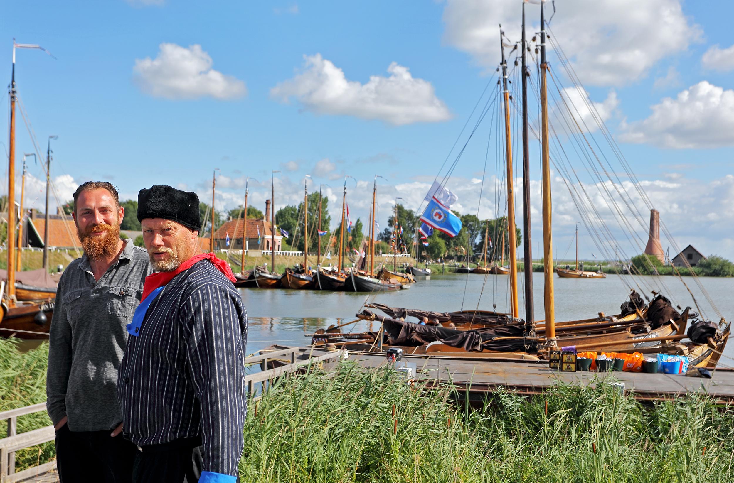 Tijdens het jaarlijks terugkerende Maritiem Festival werden zo'n zeventig botters van de Vereniging Botterbehoud aan het publiek gepresenteerd. (Foto: aangeleverd)
