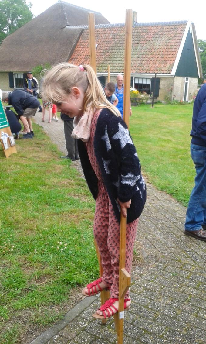 Het is Kienderspel in Wieringer Eilandsmuseum Jan Lont. (Foto: aangeleverd)