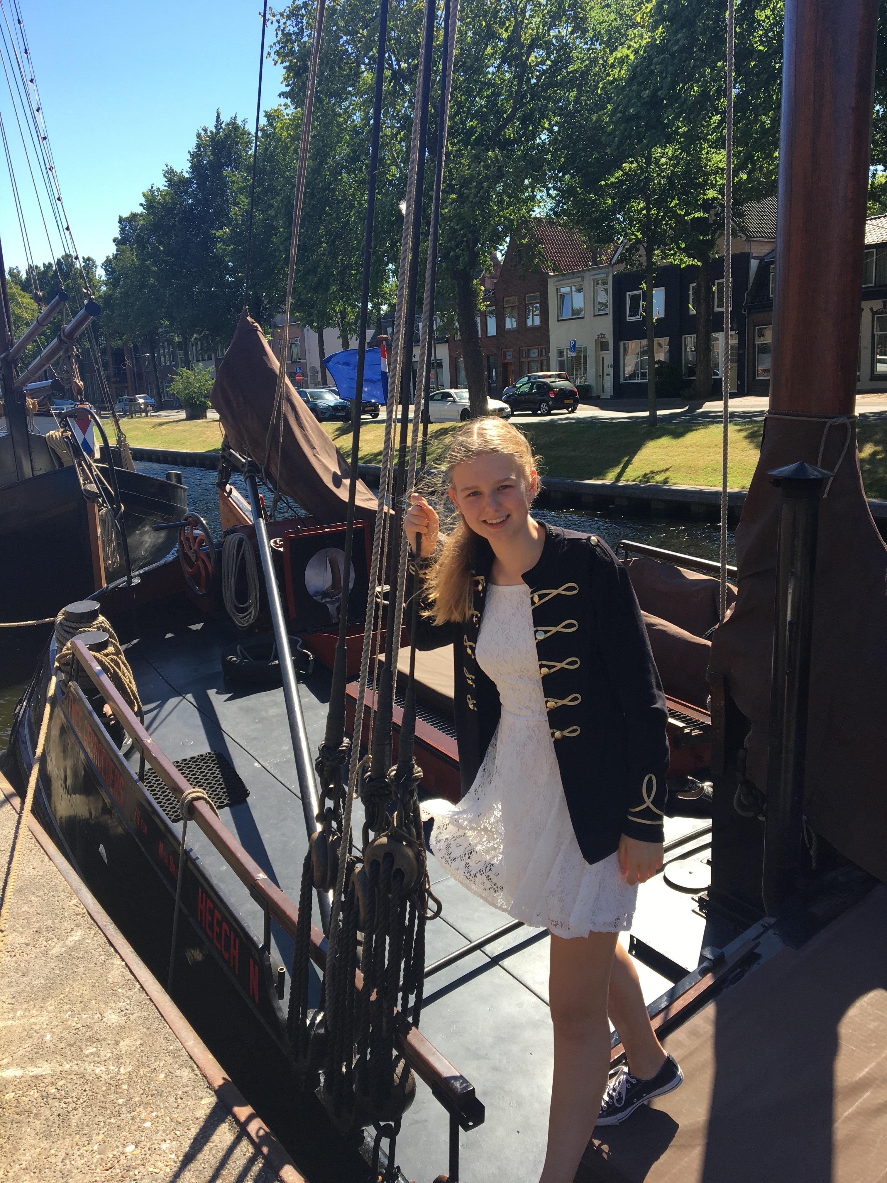 Dide de Vries wil dolgraag mee met 'School at Sea'. (Foto: Familie De Vries)