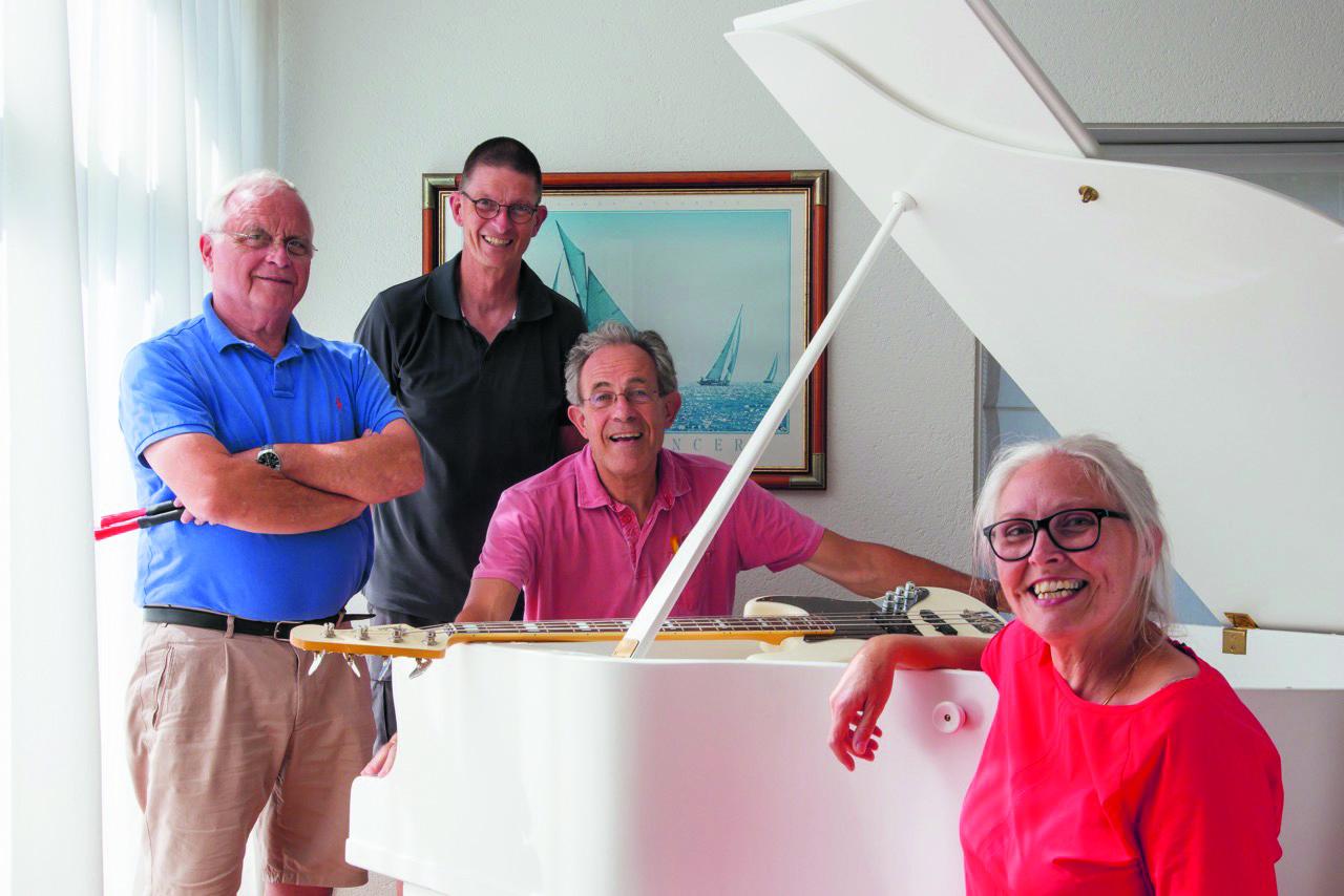 Tijdens de Open Monumentendagen treedt het jazzgezelschap Deborah and Friends op in de vernieuwde 'trouwzaal' in het Oude Gemaal. (aangeleverde foto)