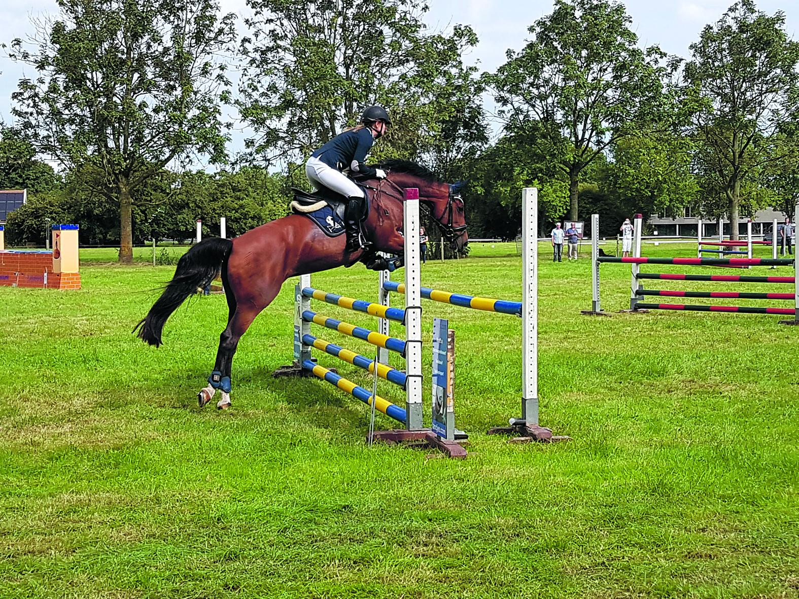 """<p>'Je paard moet voor je willen werken, anders ben je nergens'<span class=""""chapeau""""><br />Dressuur, springen &amp; Schoonste Geheel bij Ri rodi.nl © rodi"""