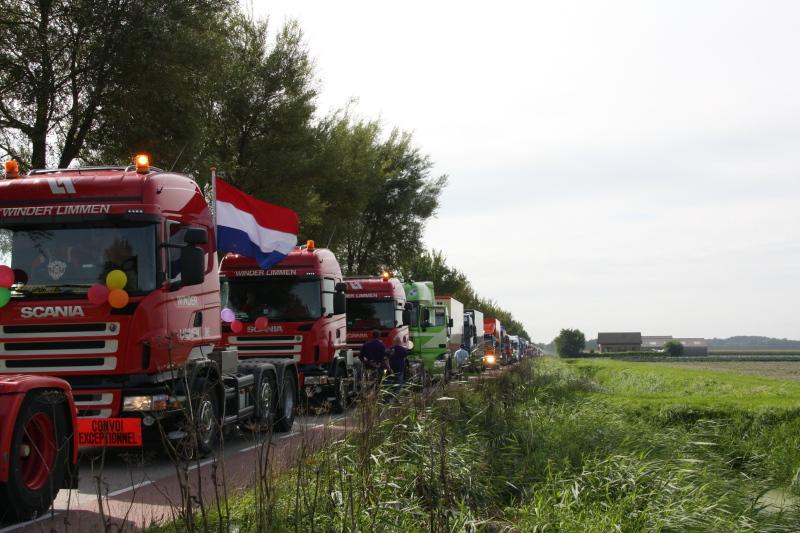 De Vrachtwagentour is al veertien jaar een groot succes in de regio. (aangeleverde foto)