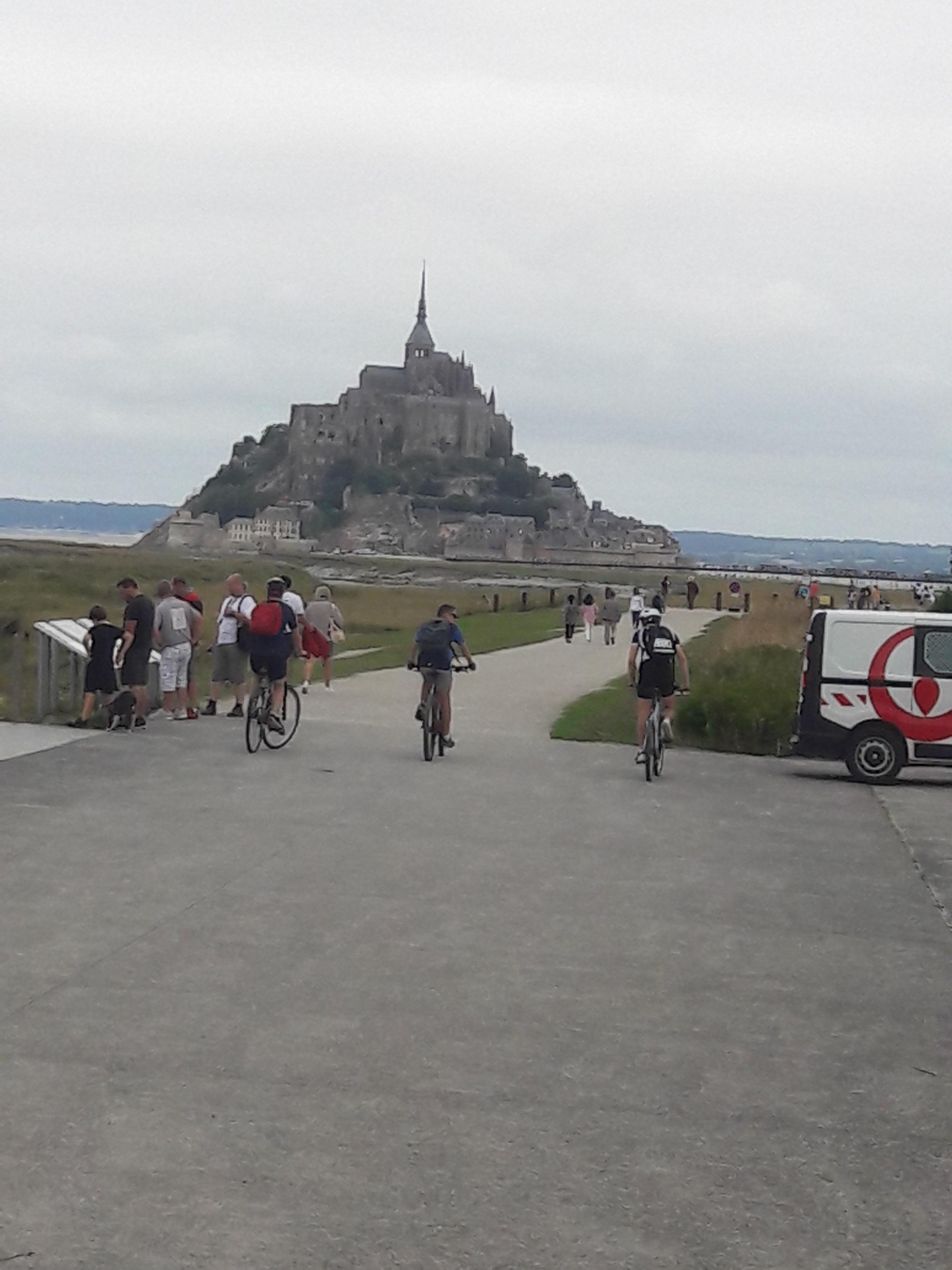 Mont Saint Michel. (aangeleverde foto)