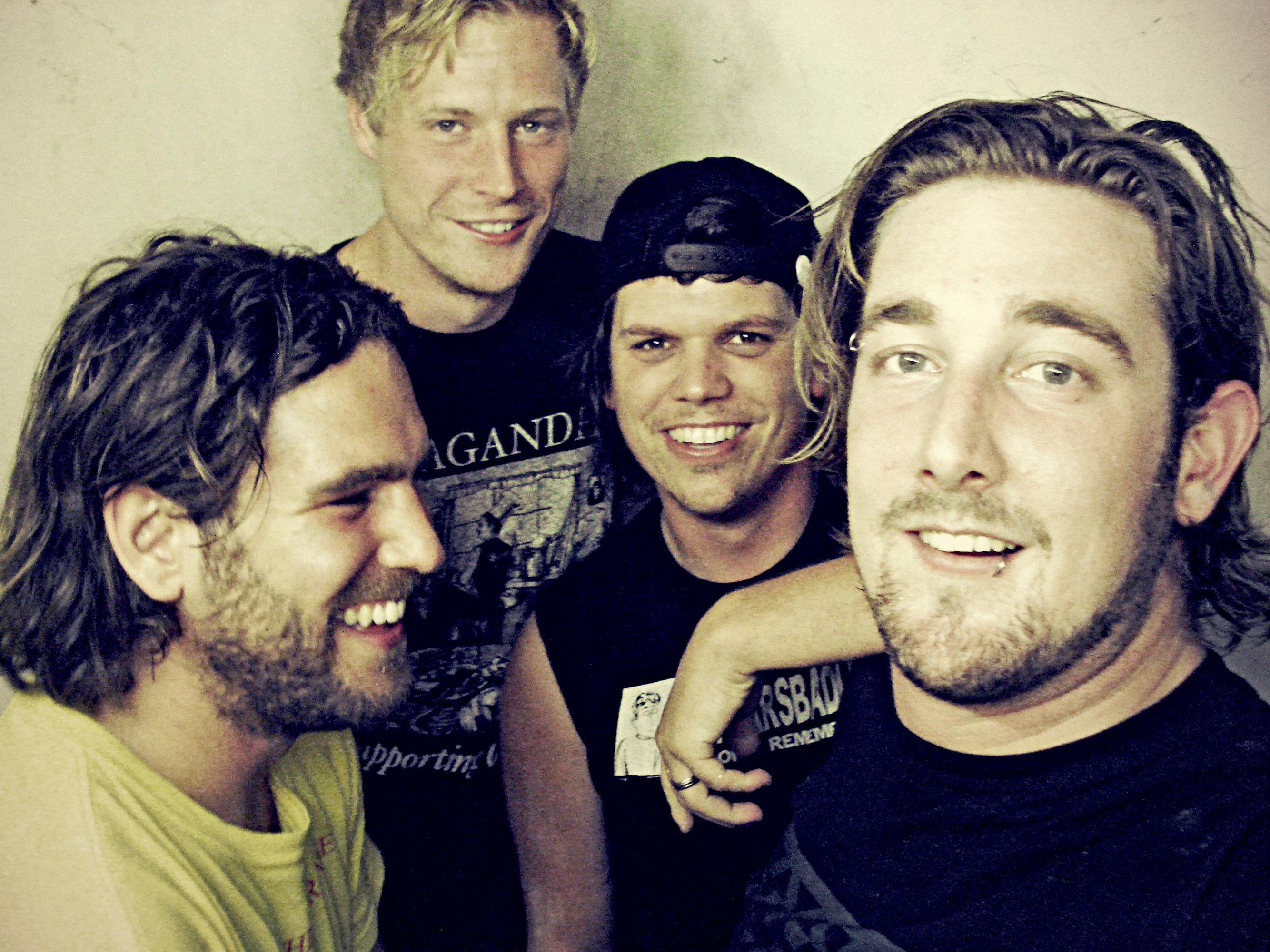 De IJmondse punkband Sweet Empire. (Foto: Aangeleverd)