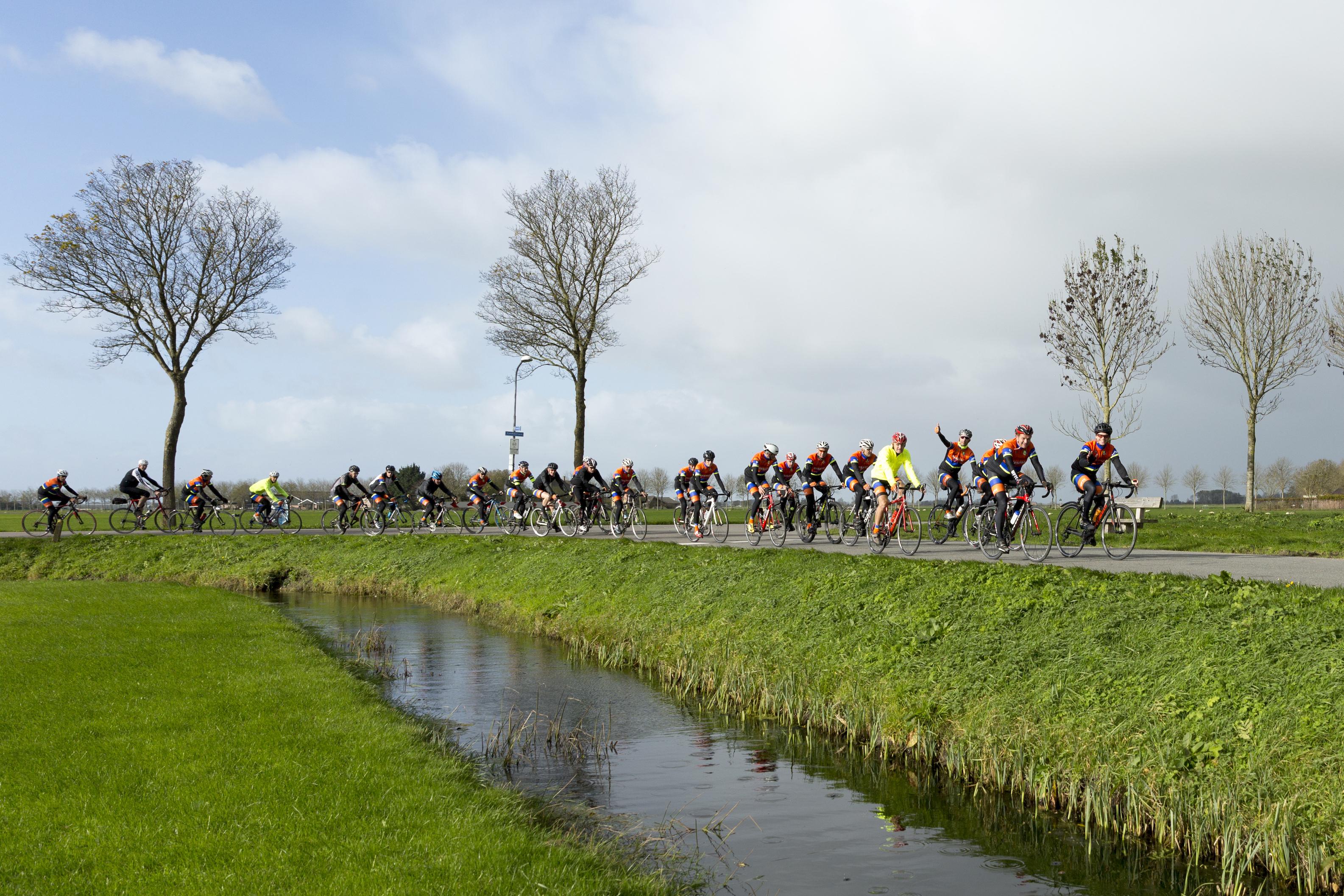 Deelnemers kunnen kiezen uit twee afstanden: zeventig of honderd kilometer. (Foto: aangeleverd)