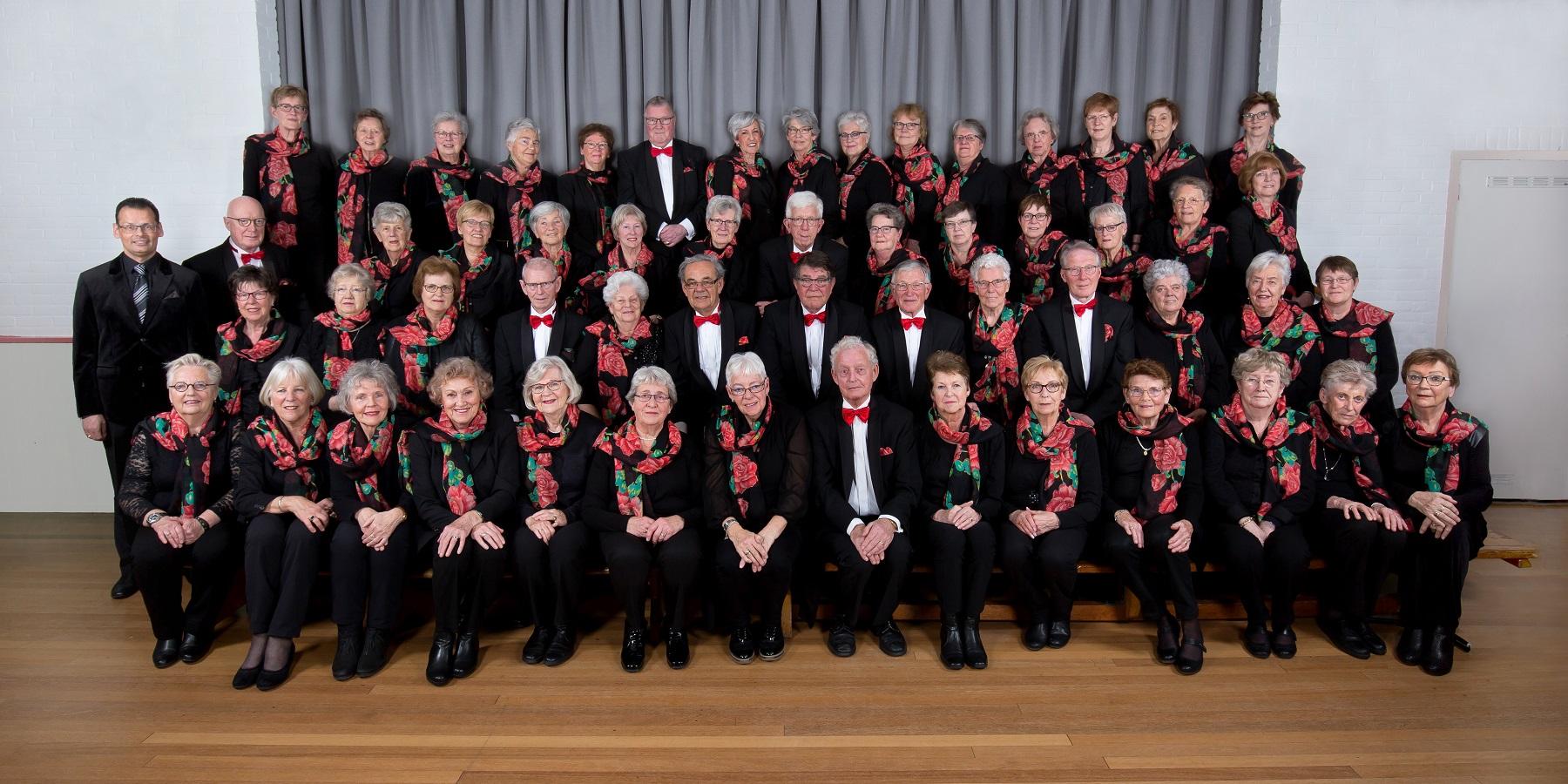 Gemengd koor Bellissimo. (Foto: Aangeleverd)