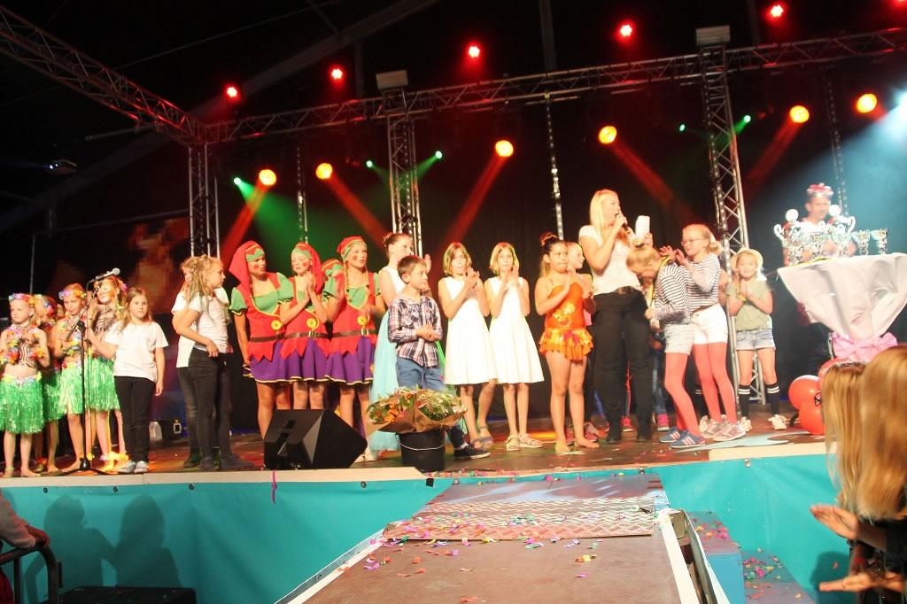 Diverse groepjes deden vorig jaar mee met Medemblik's got talent. (Foto: Rondom Fototeam)