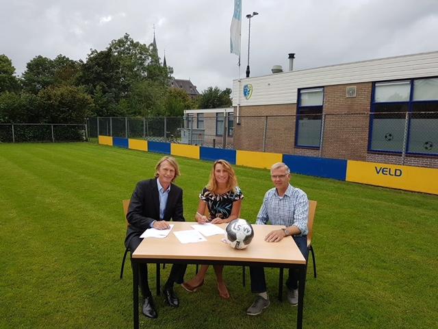 Kinderopvang Langedijk biedt sinds 3 september een sport en spel BSO bij LSVV. (Foto: aangeleverd)