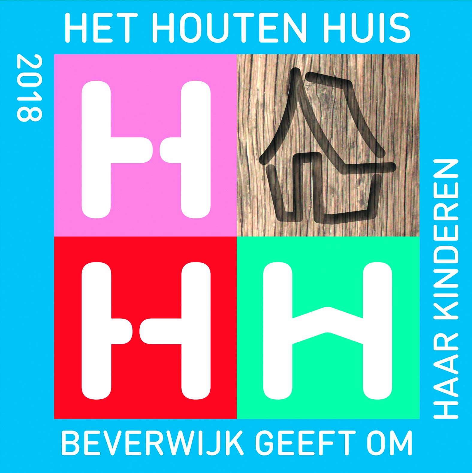 Het logo van de actie 'Het Houten Huis' is een ontwerp van Henk Tijbosch.
