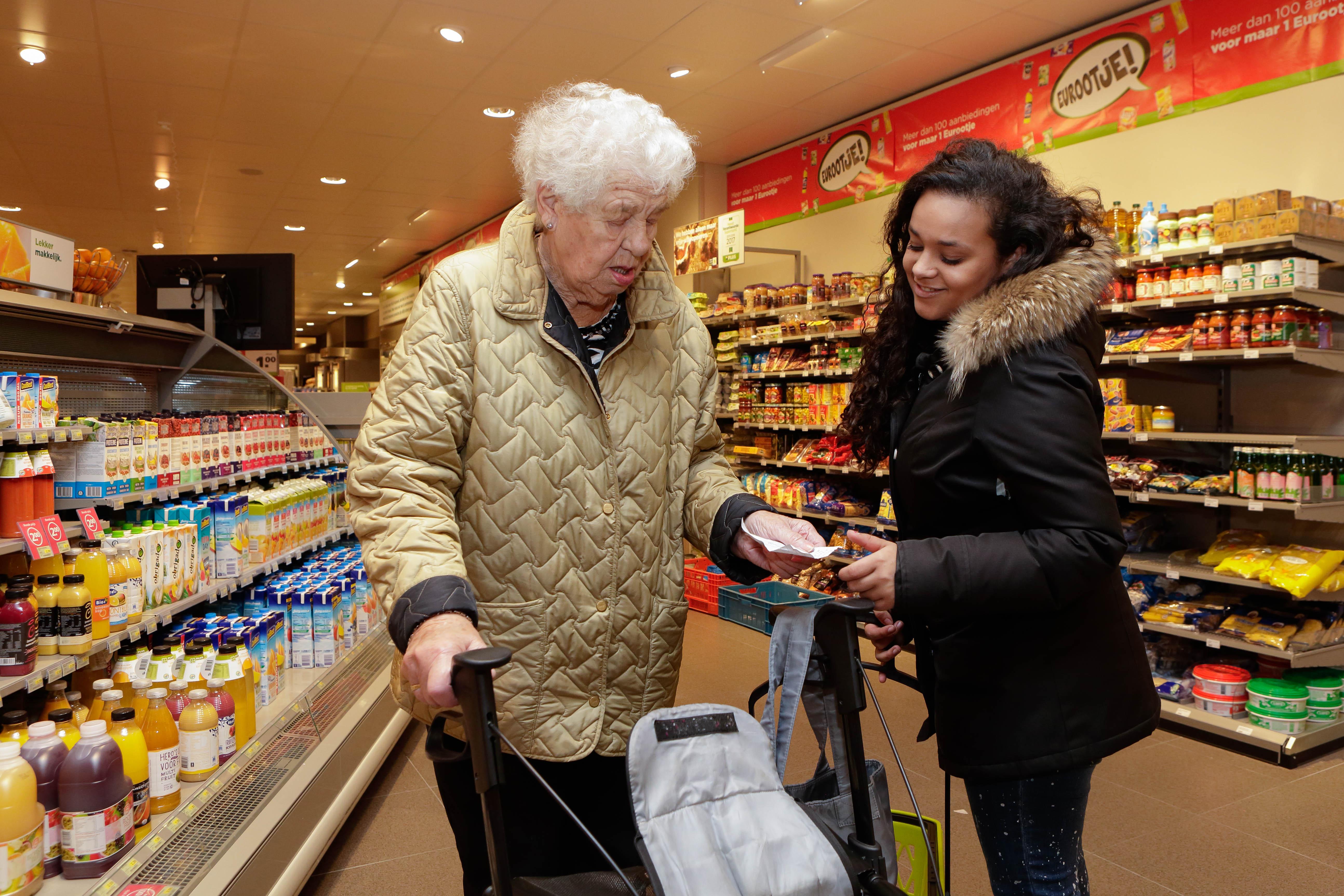 Hulp voor ouderen in Noord. (Foto: aangeleverd)