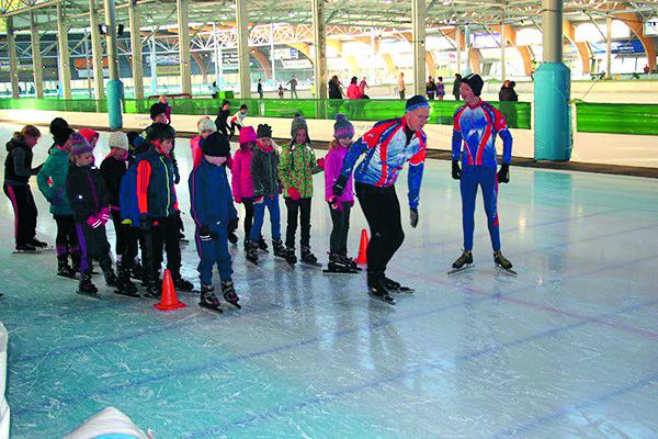 Schoolschaatsen met 'Kees Jongert'