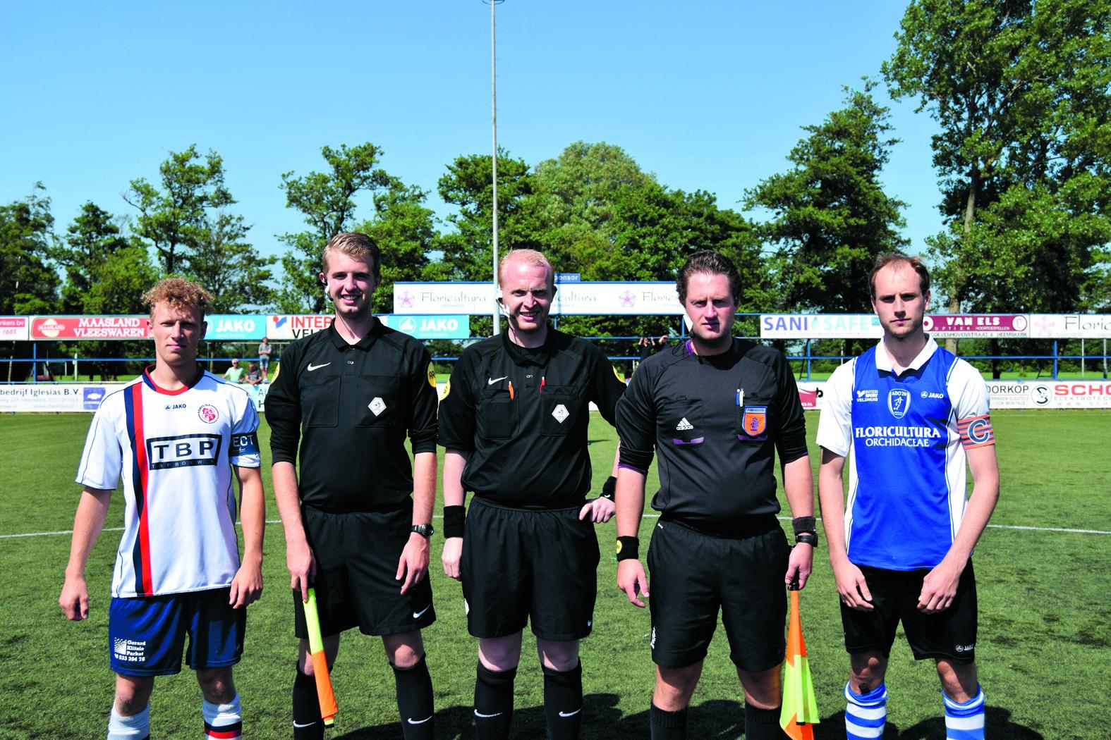 Fortuna Wormerveer (links) en ADO20 (rechts) strijden dit seizoen in poule A1 tegen elkaar. (foto aangeleverd)