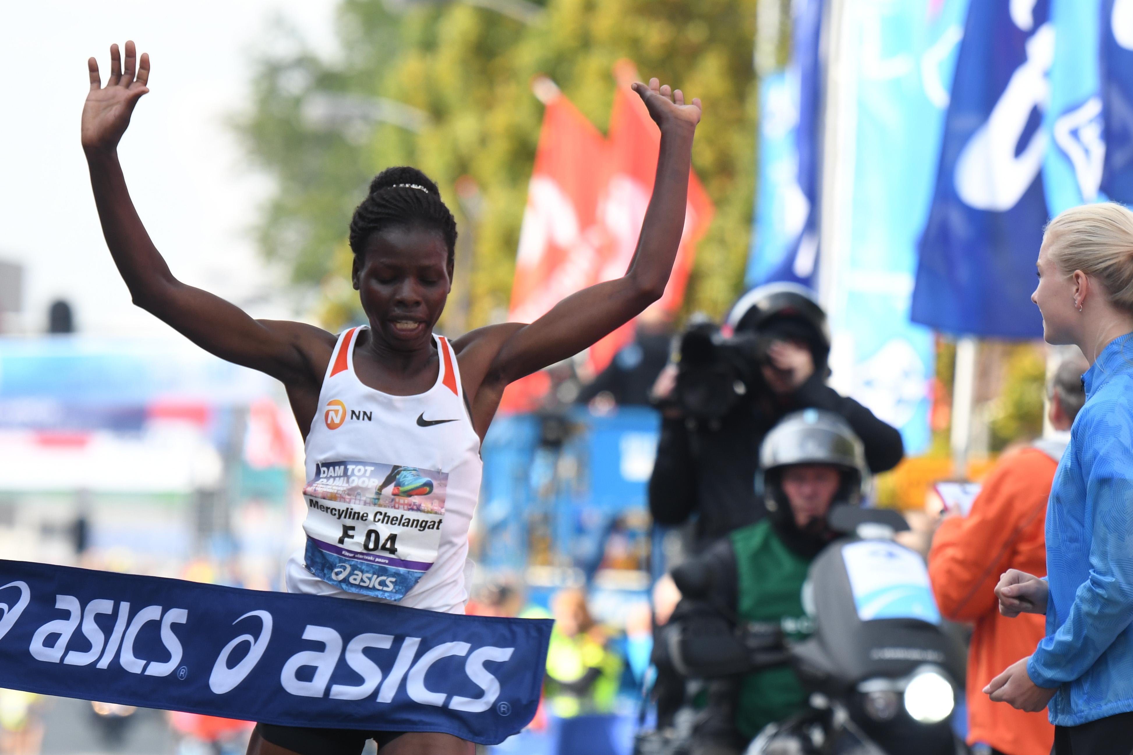 Mercelyne Chelangat. (Foto: Le Champion)